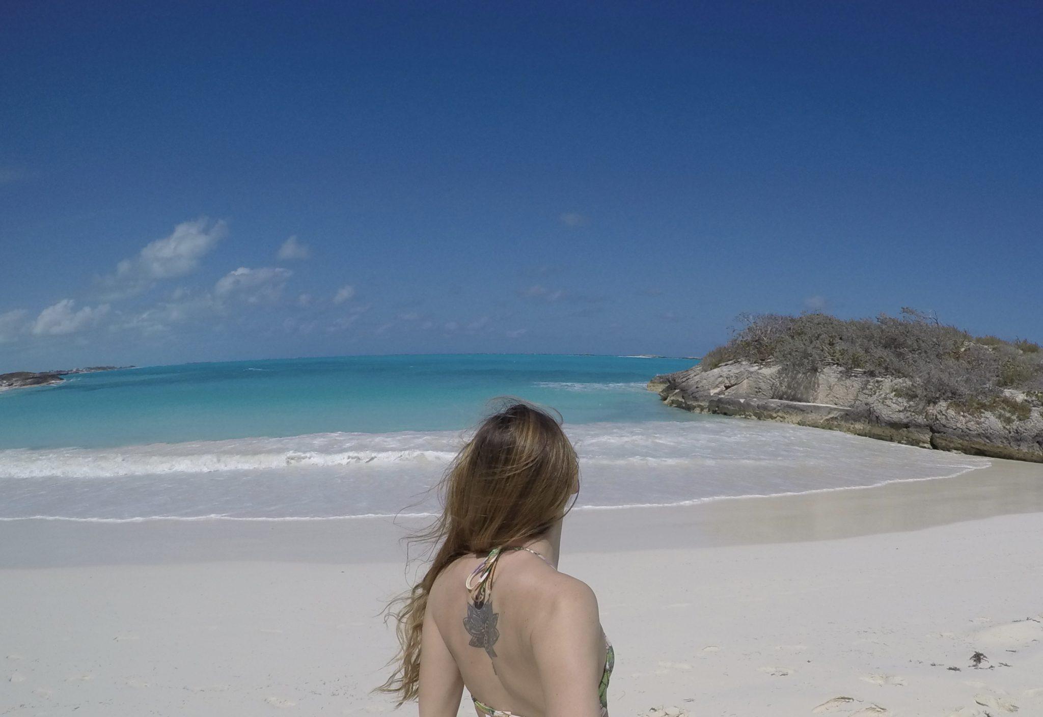 exuma, bahamas, beach