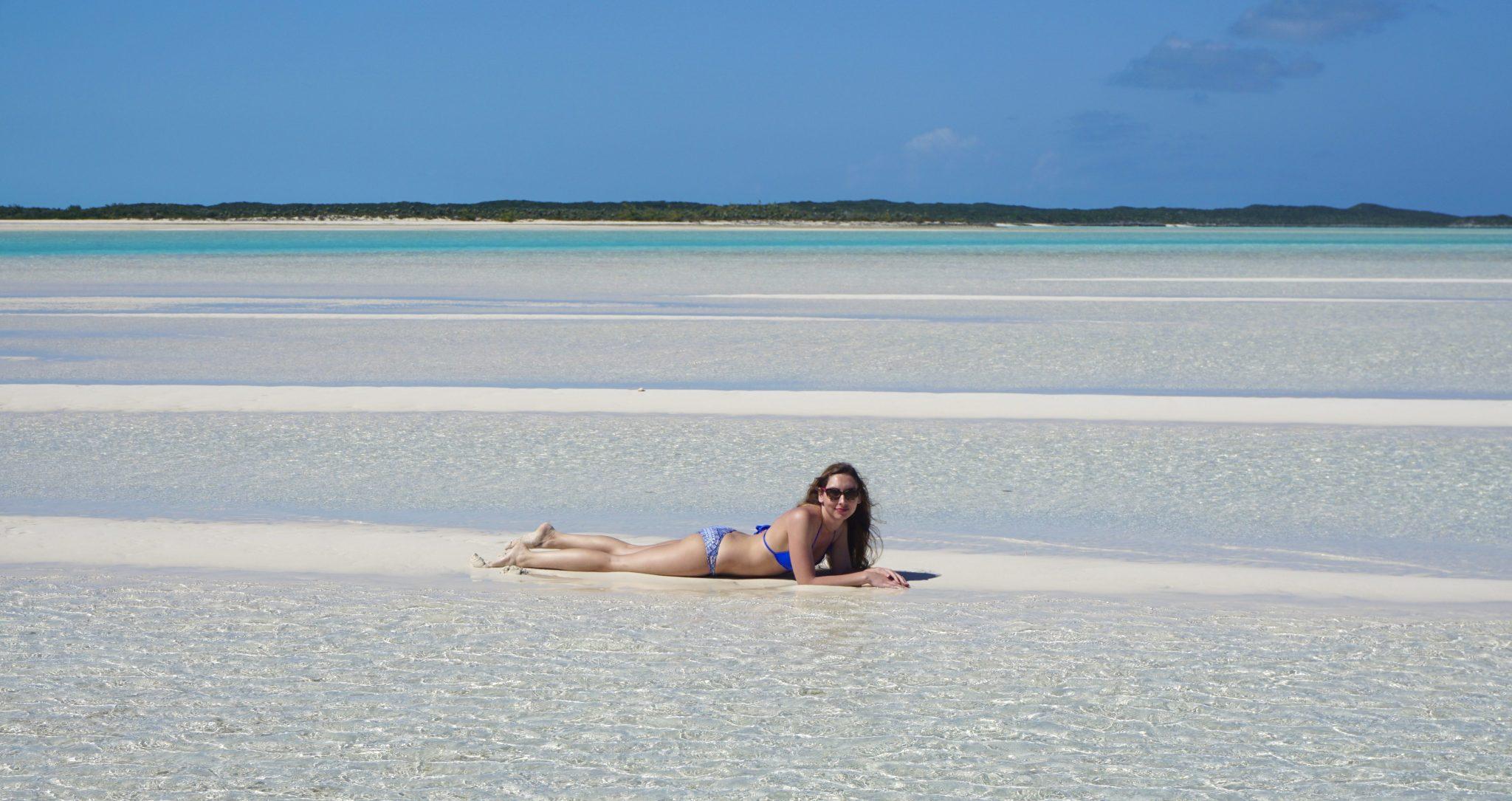 exuma, bahamas, sandbar, beach