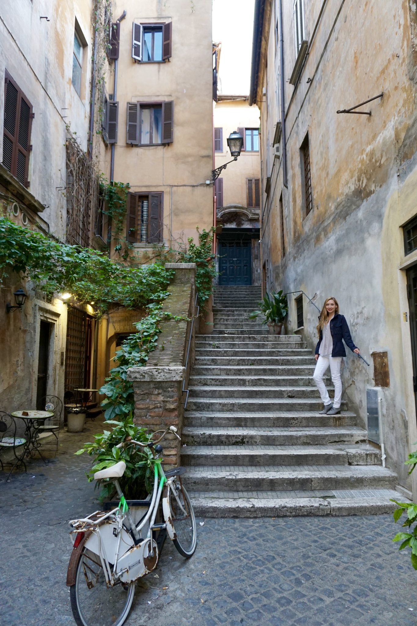 Rome alleyways, Italy