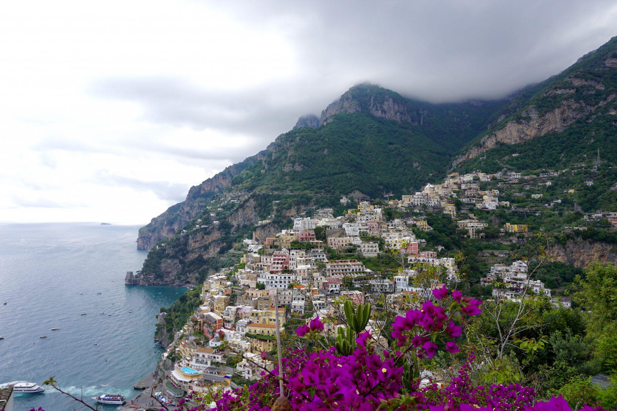 views of Positano, Italy