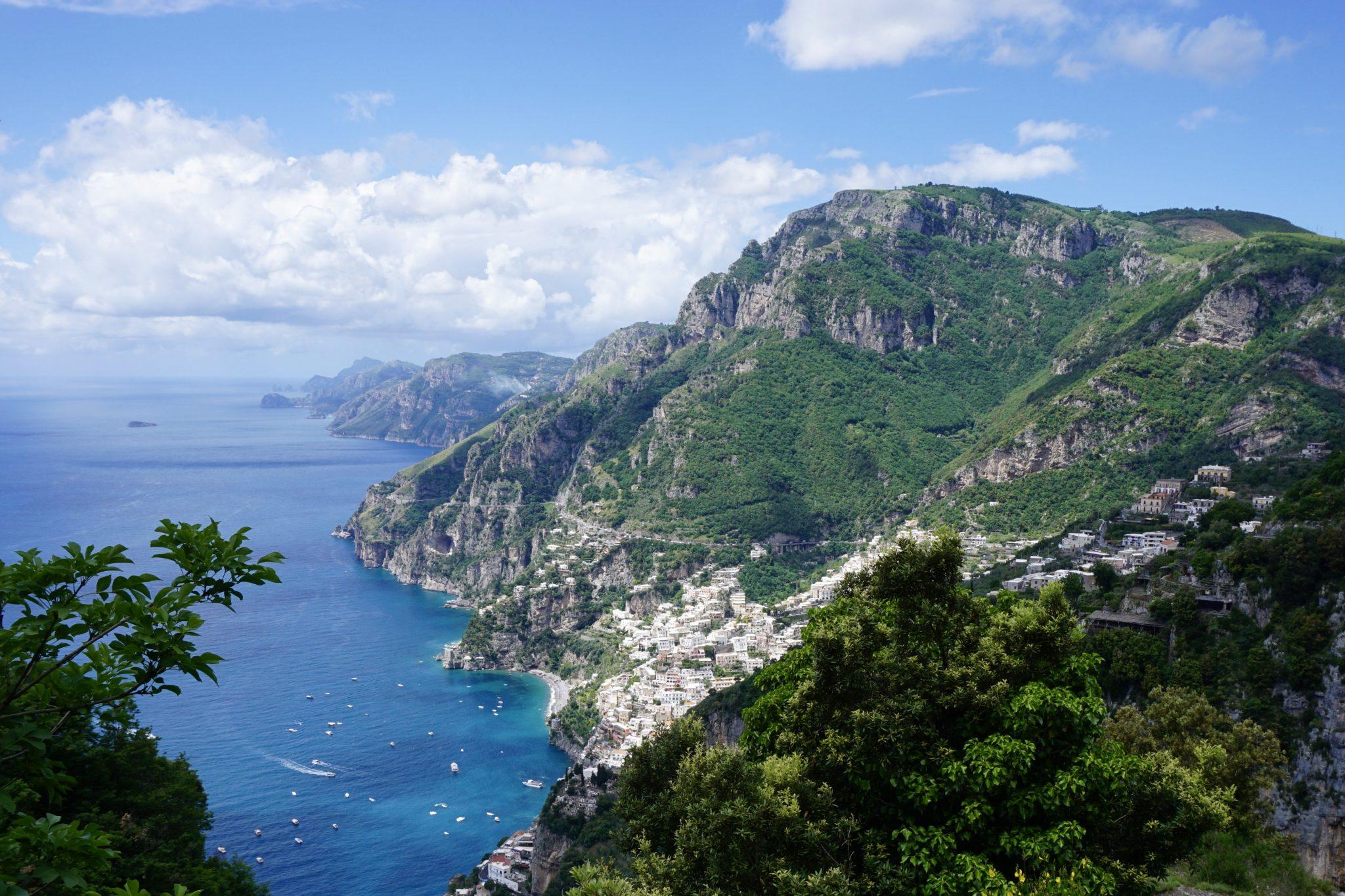 amalfi coast views, path of the gods, positano, Italy