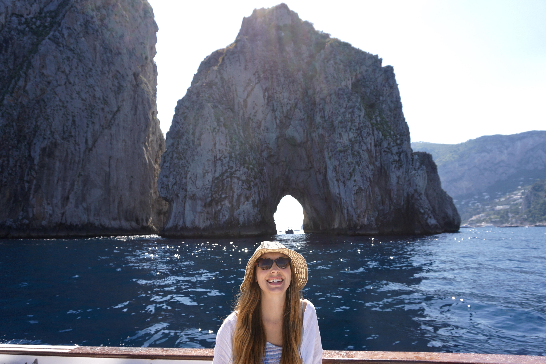 cassiopea boat tour, capri, italy