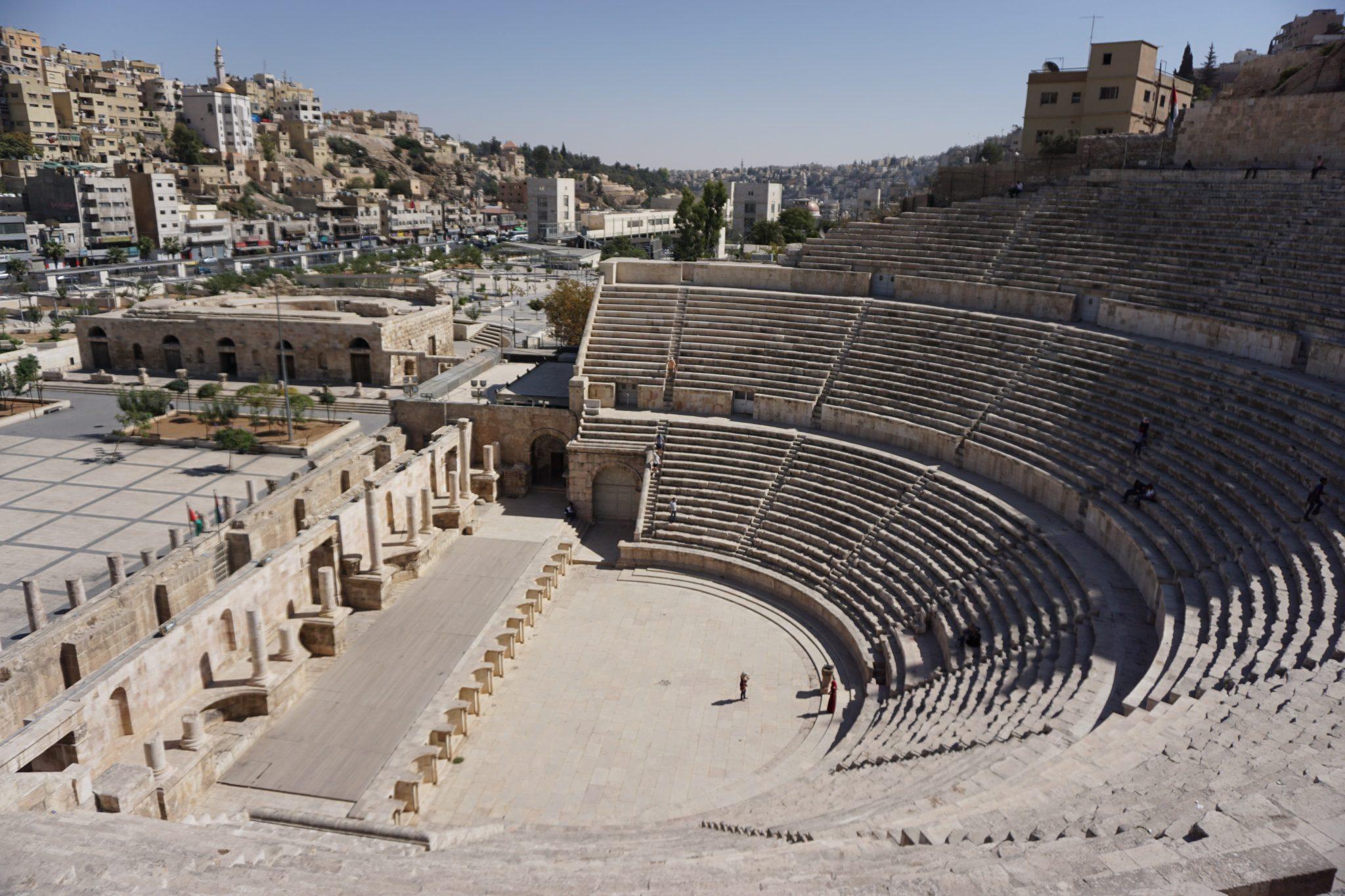 amphitheater, amman, jordan