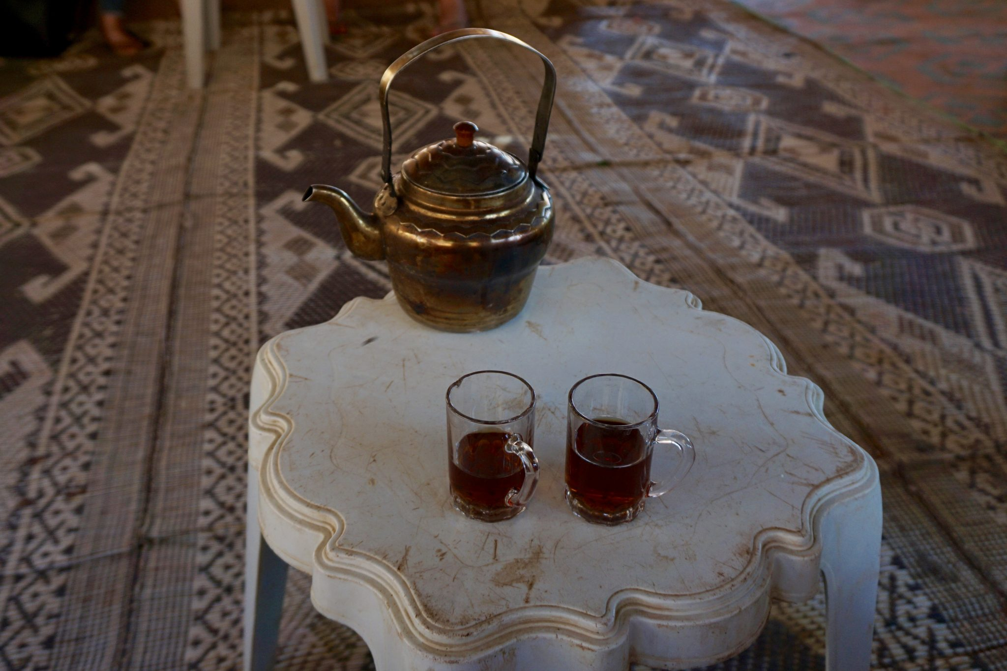 tea, wadi rum, jordan