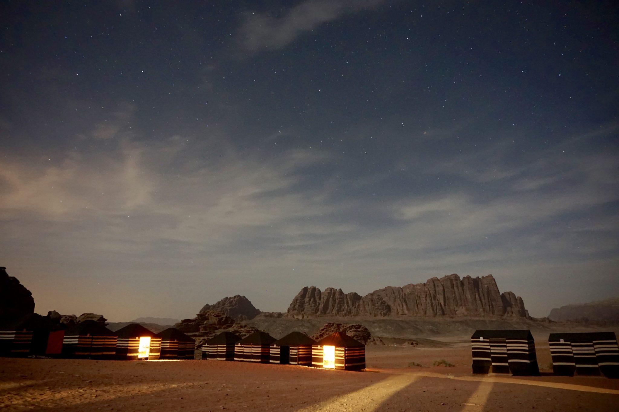 camp, wadi rum, jordan
