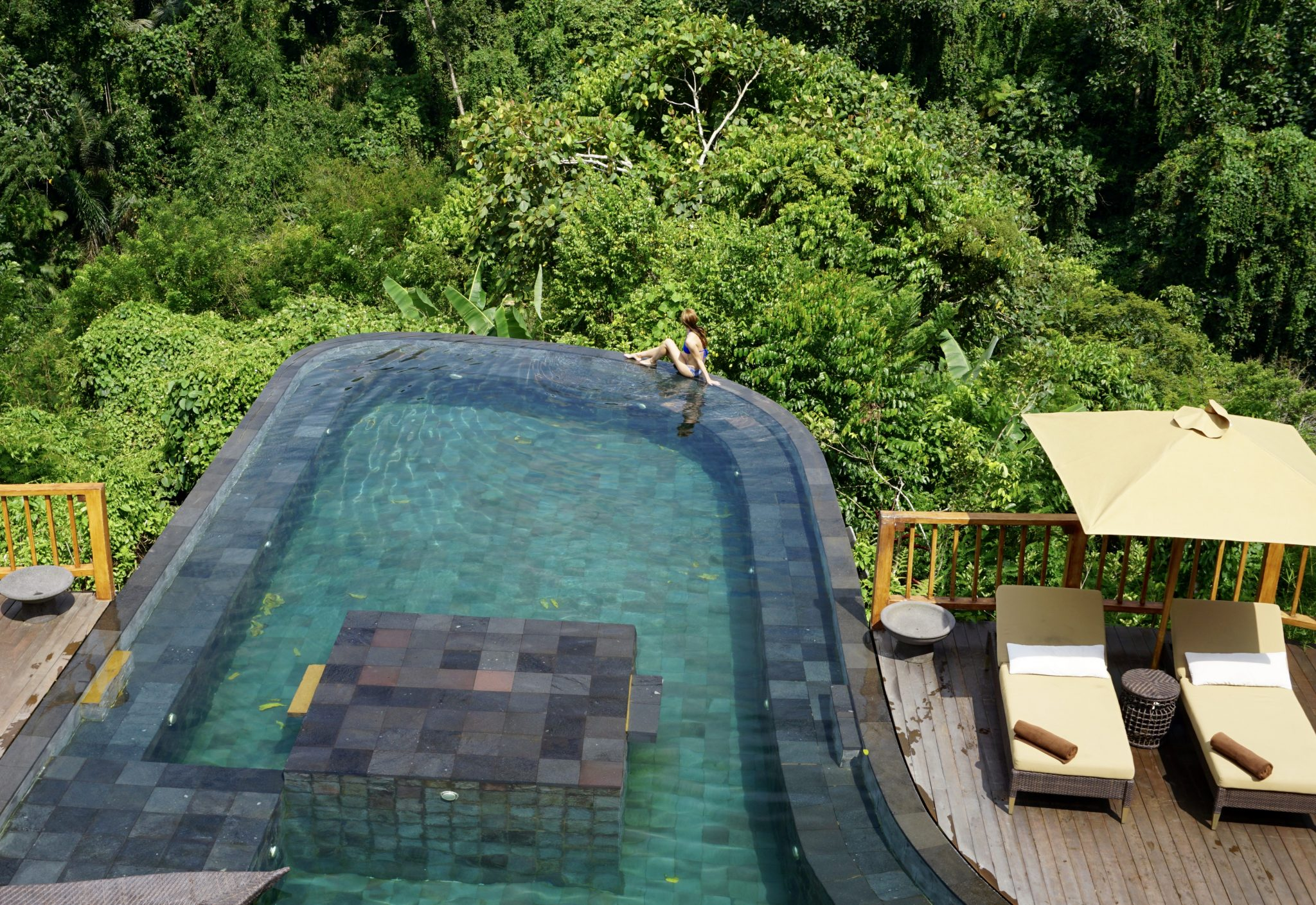 ubud, bali, hanging gardens, infinity pool, best pools, pool villa