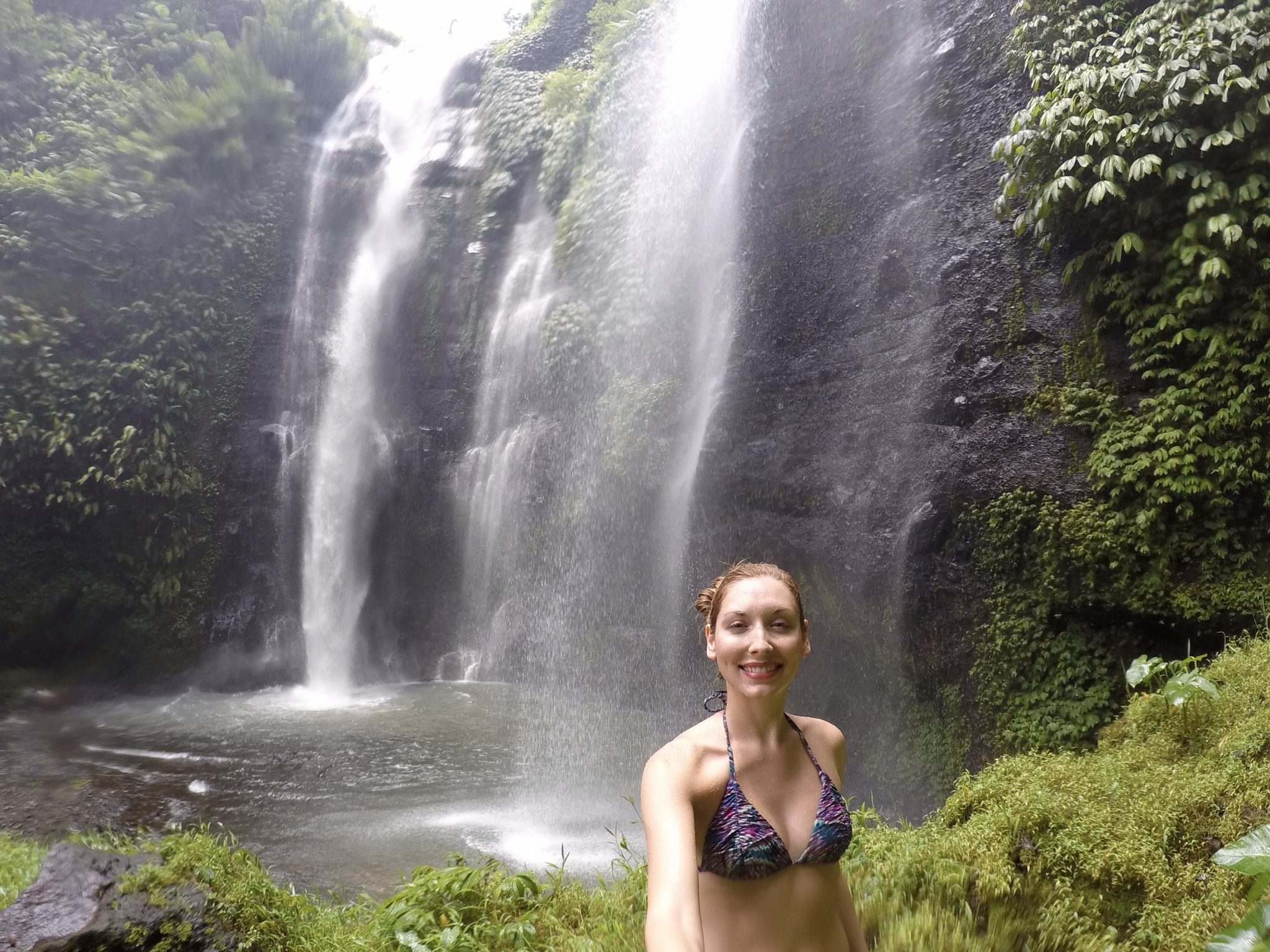 sekumpul, waterfalls, bali, jungle, ubud, northern bali
