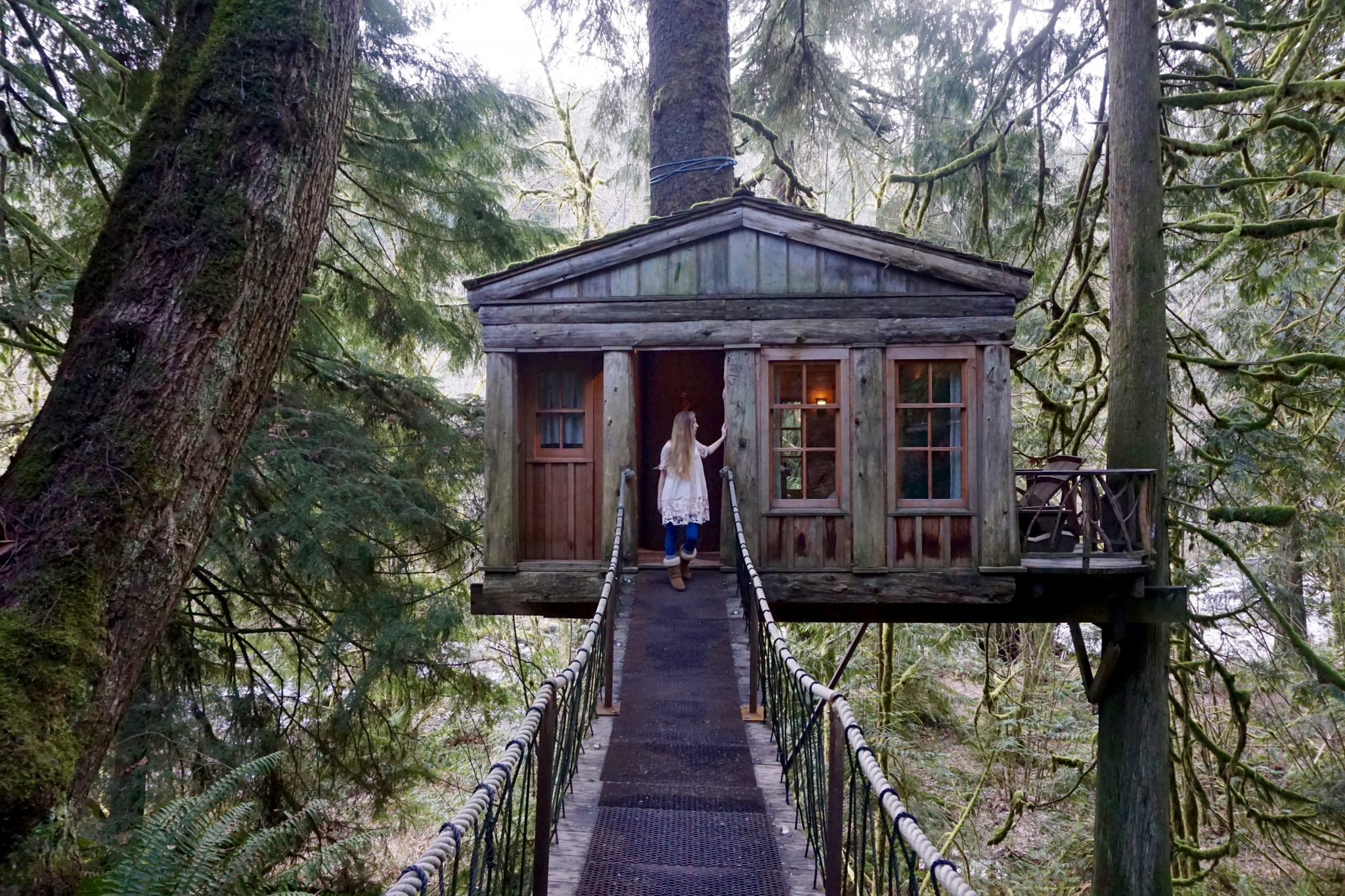 Fairy Tale Treehouses Treehouse Point Washington My Feet Will