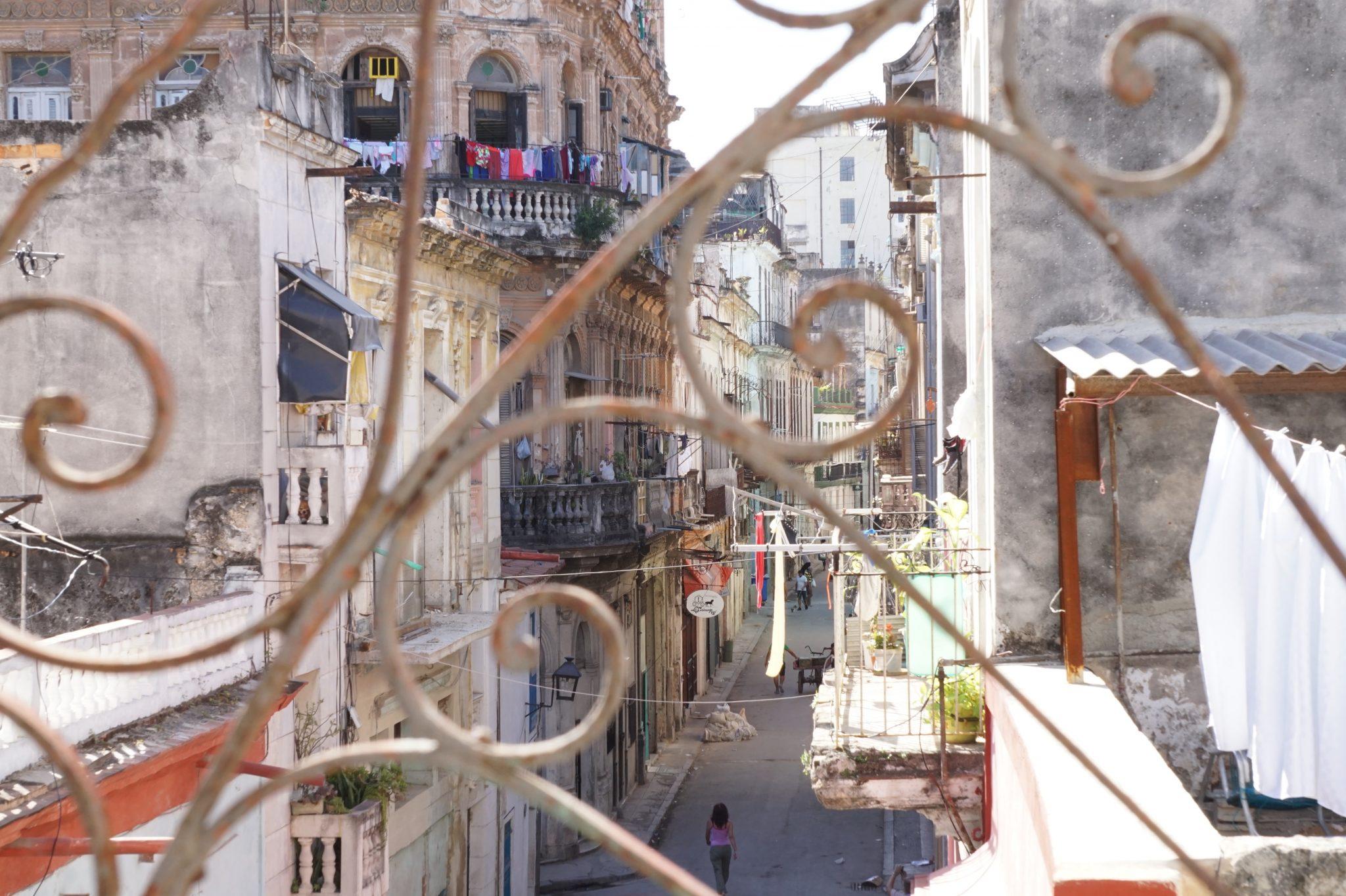 Havana, Cuba, apartment, street