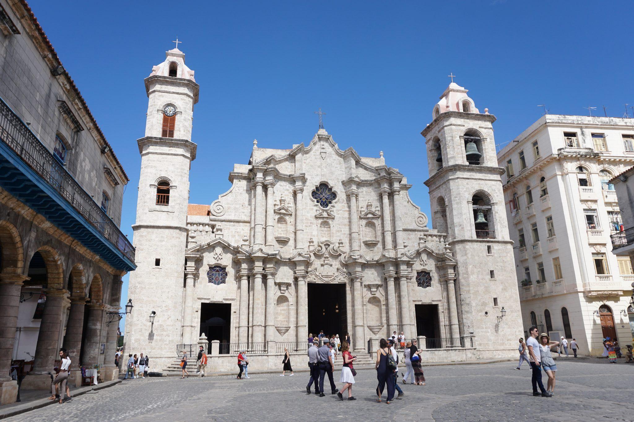 Havana, Cuba, cathedral