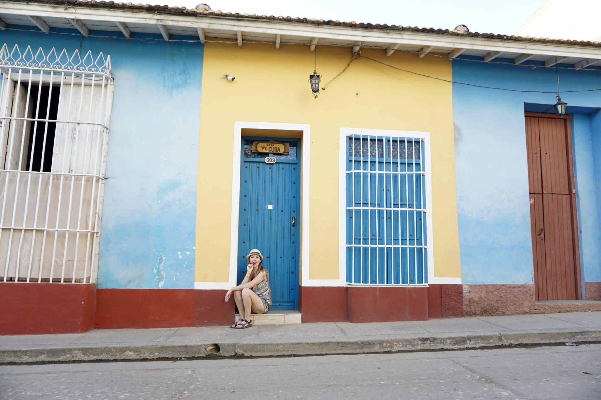 Trinidad, streets, cigar
