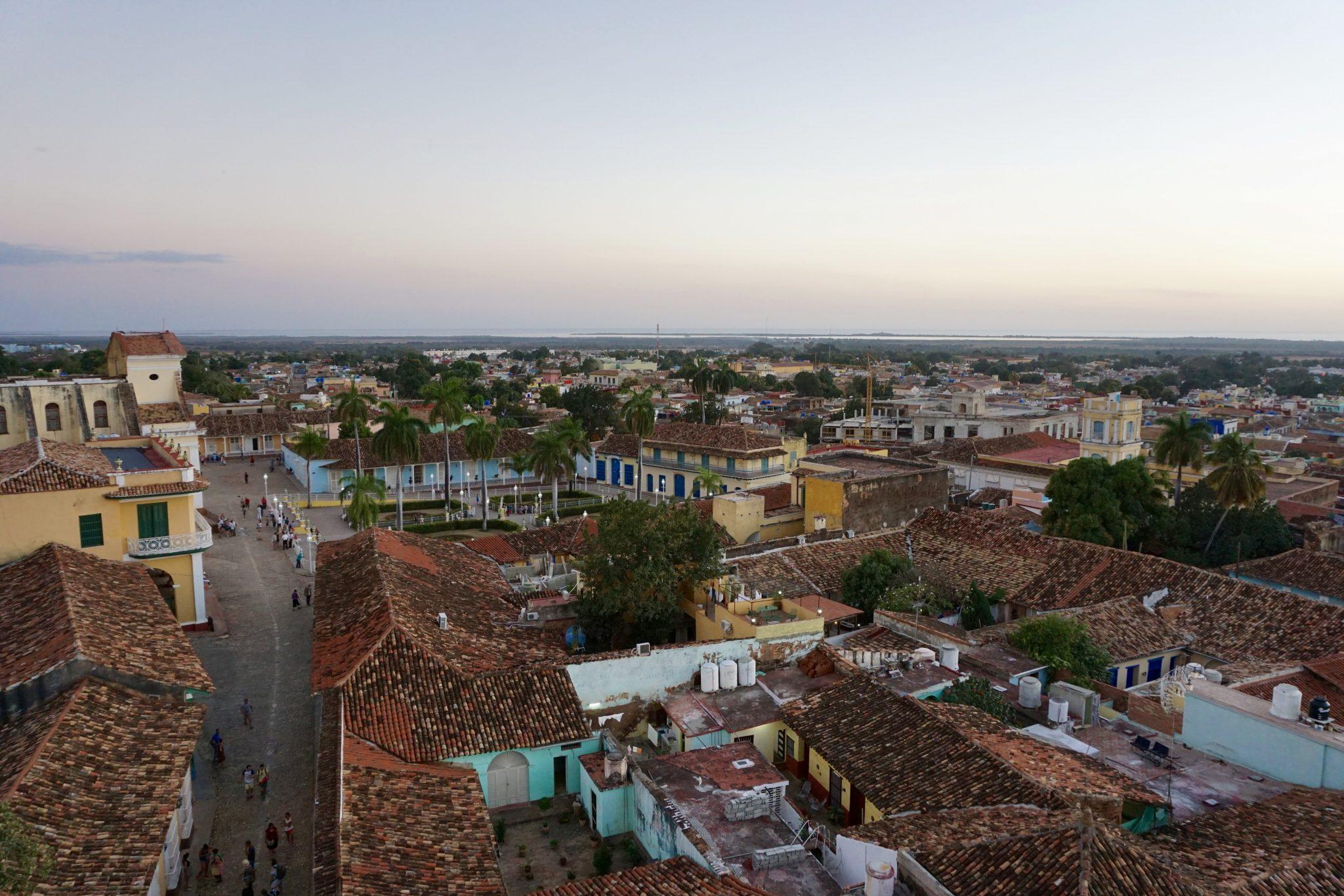 Trinidad, Cuba, views, sunset