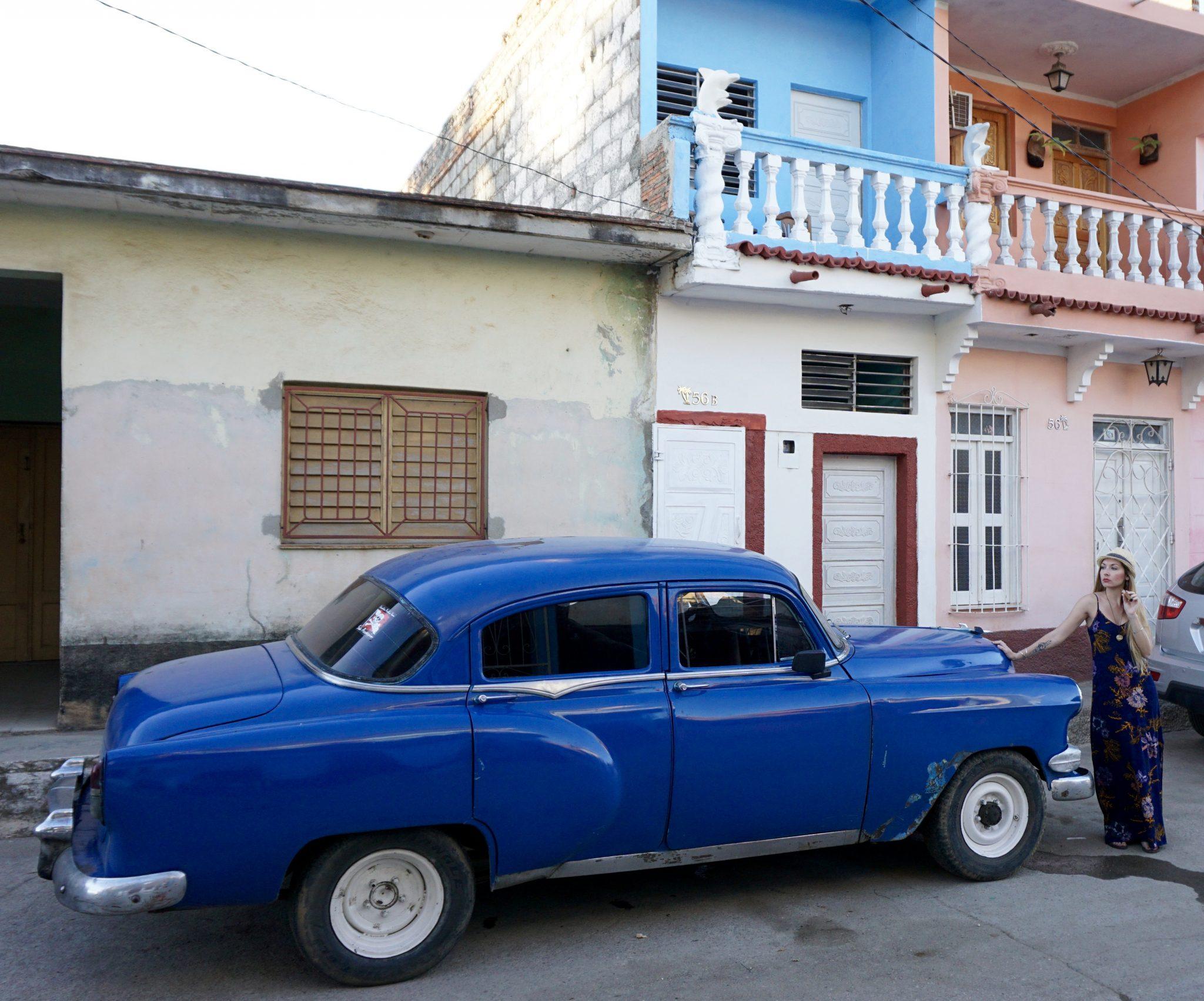 Trinidad, Cuba, cigar, class car