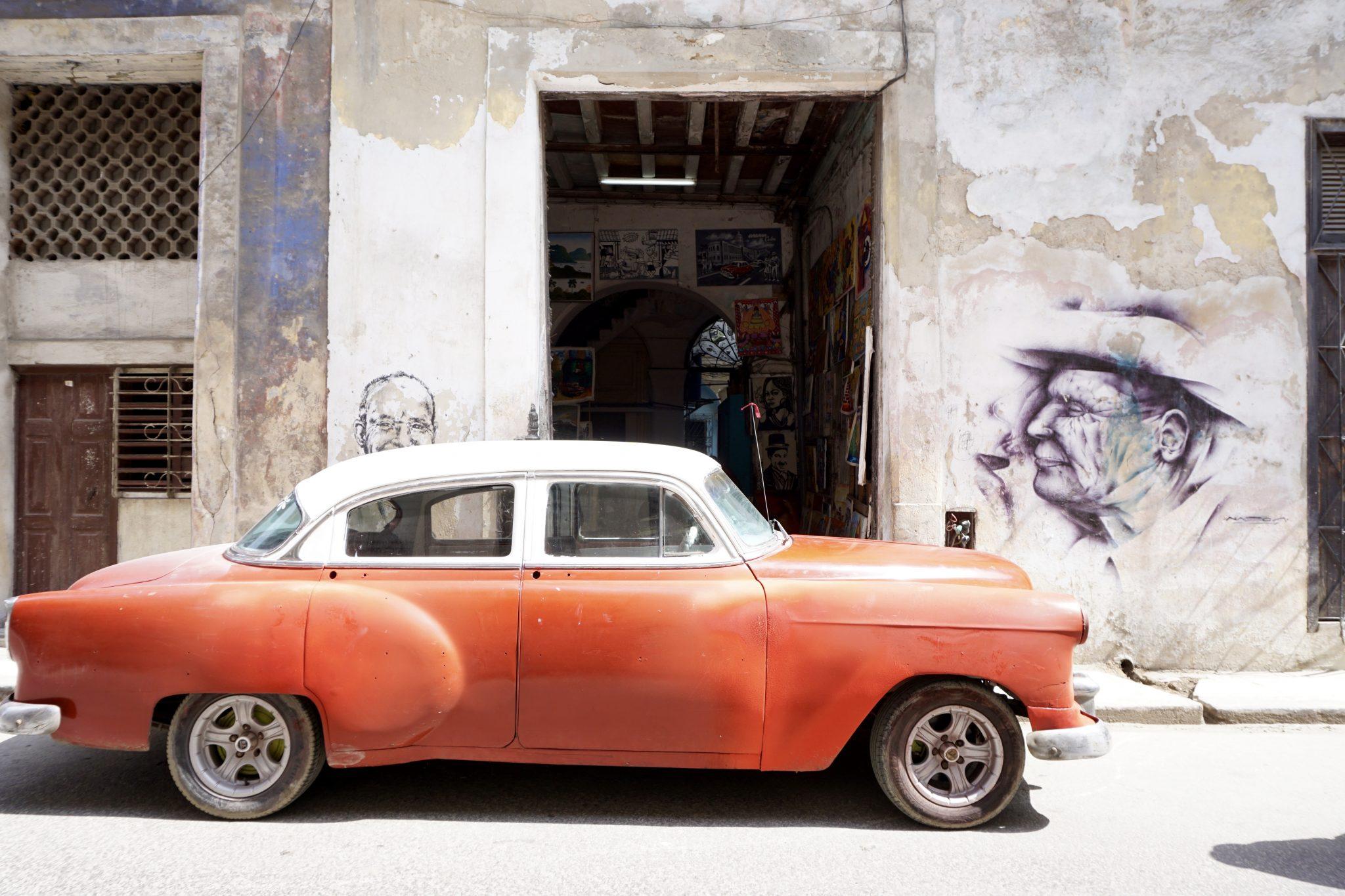 Havana, Cuba, classic, car