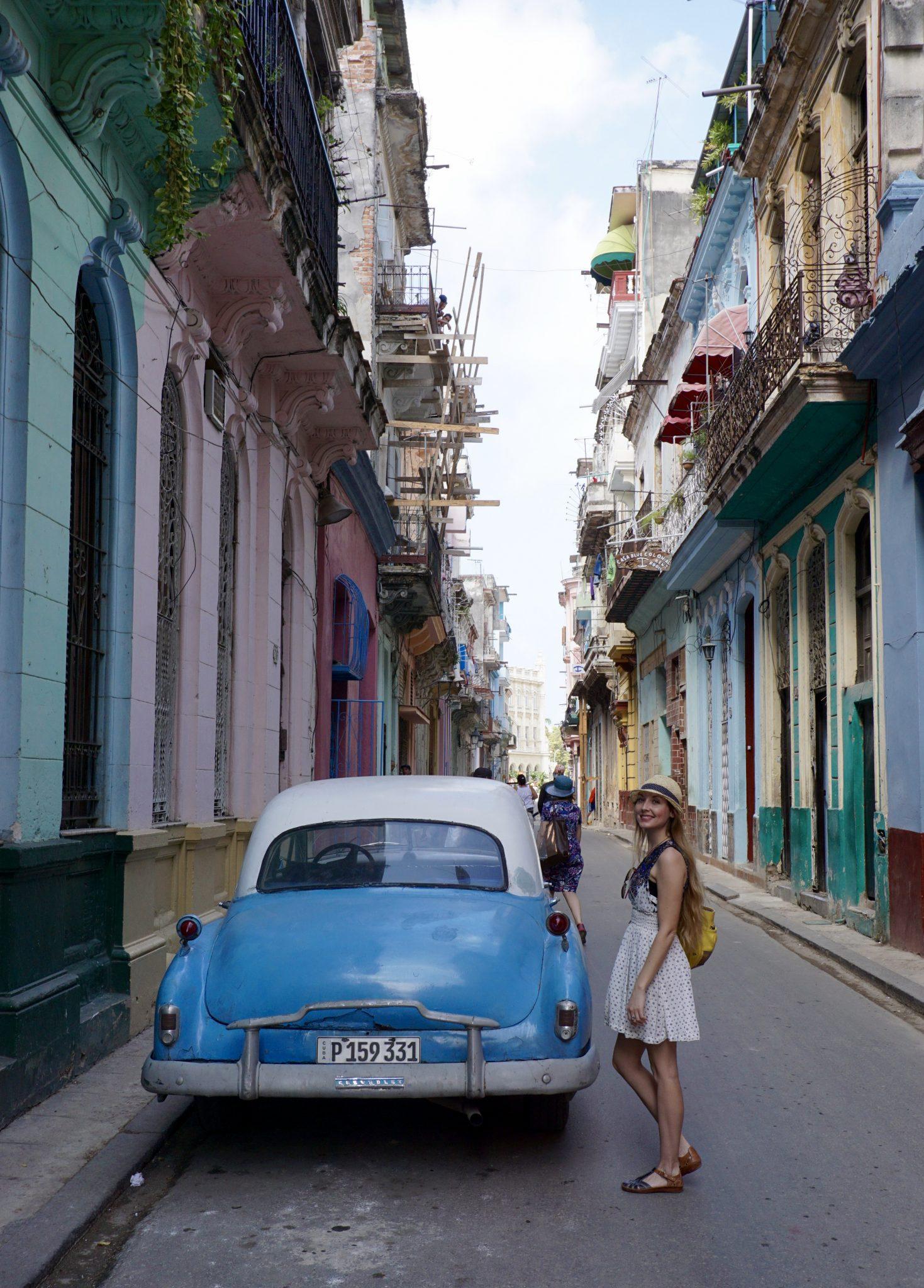 Havana, Cuba, street, classic car