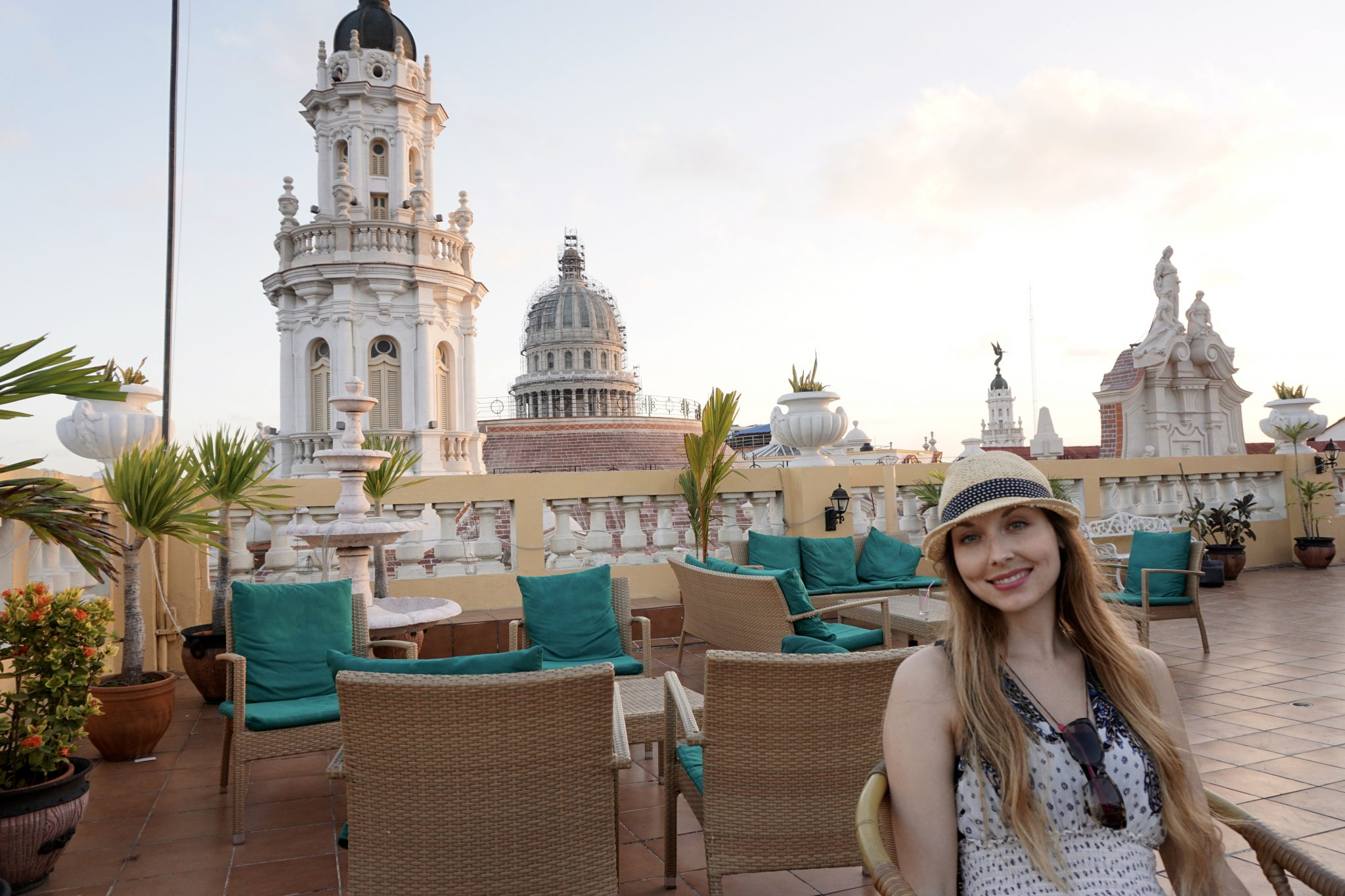 Havana, Cuba, rooftop, bars, restaurants, views