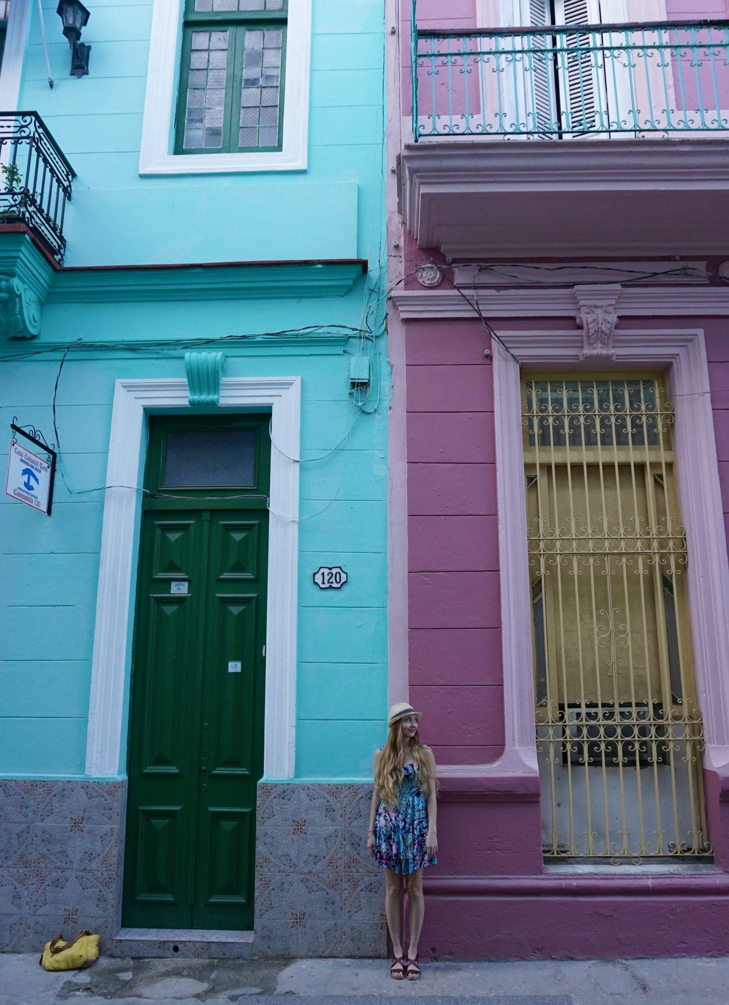 Havana, Cuba, streets, colors
