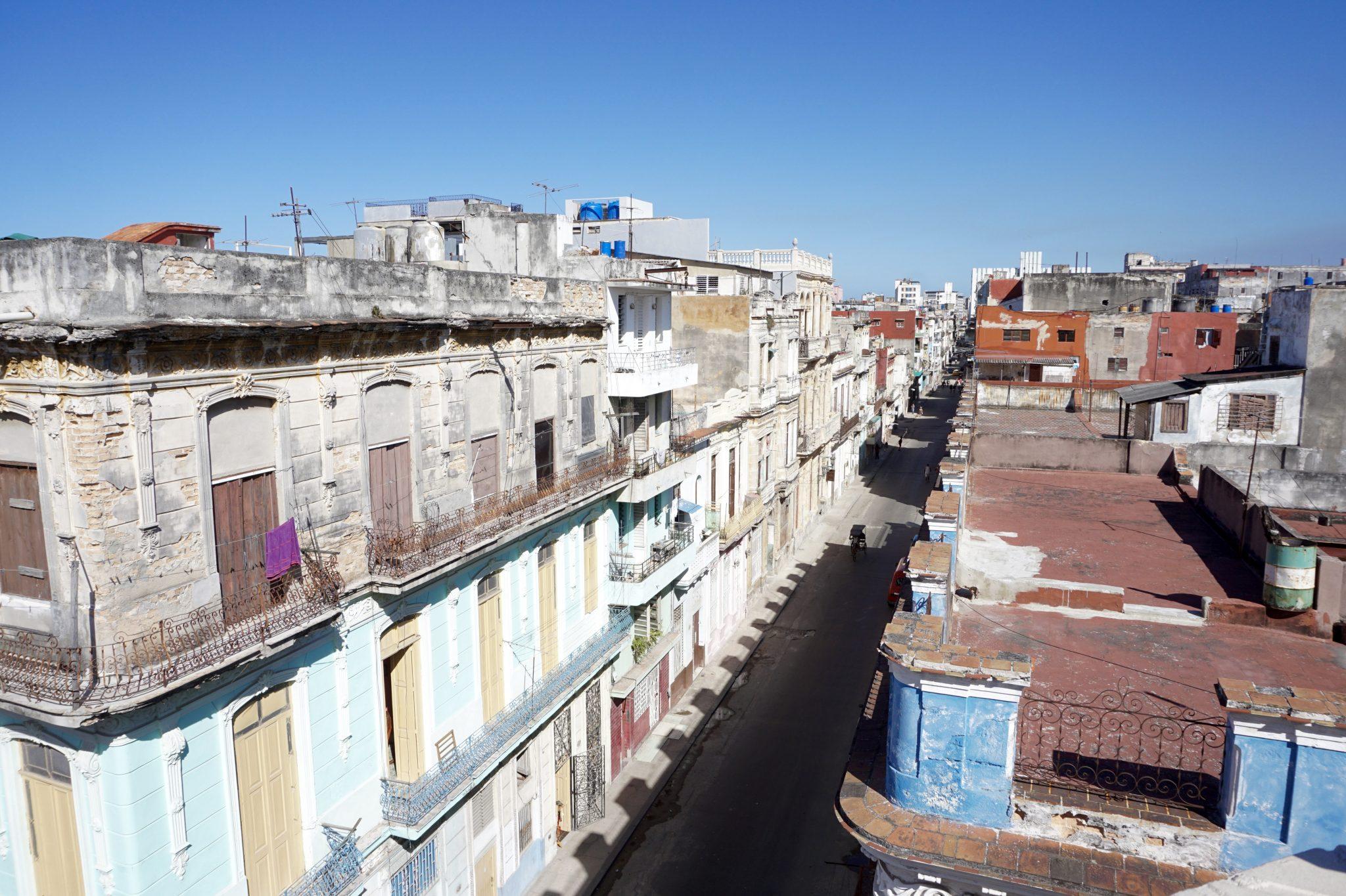 Havana, Cuba, streets, rooftops