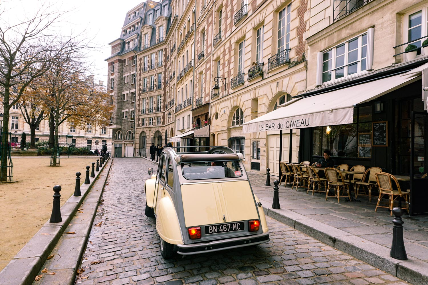 2CV Paris Tours, Cedrics Paris Tours
