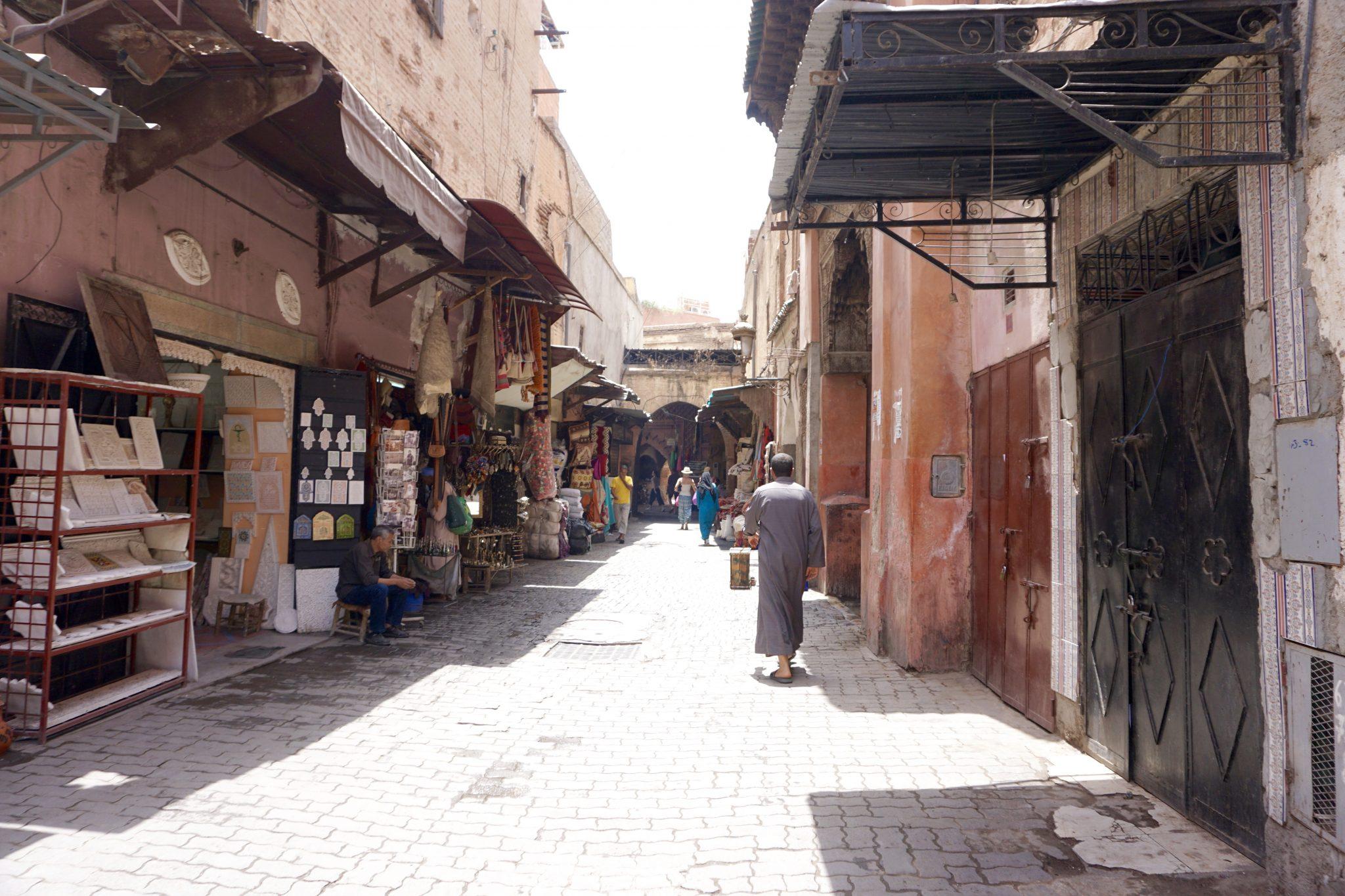 marrakech, souks, medina
