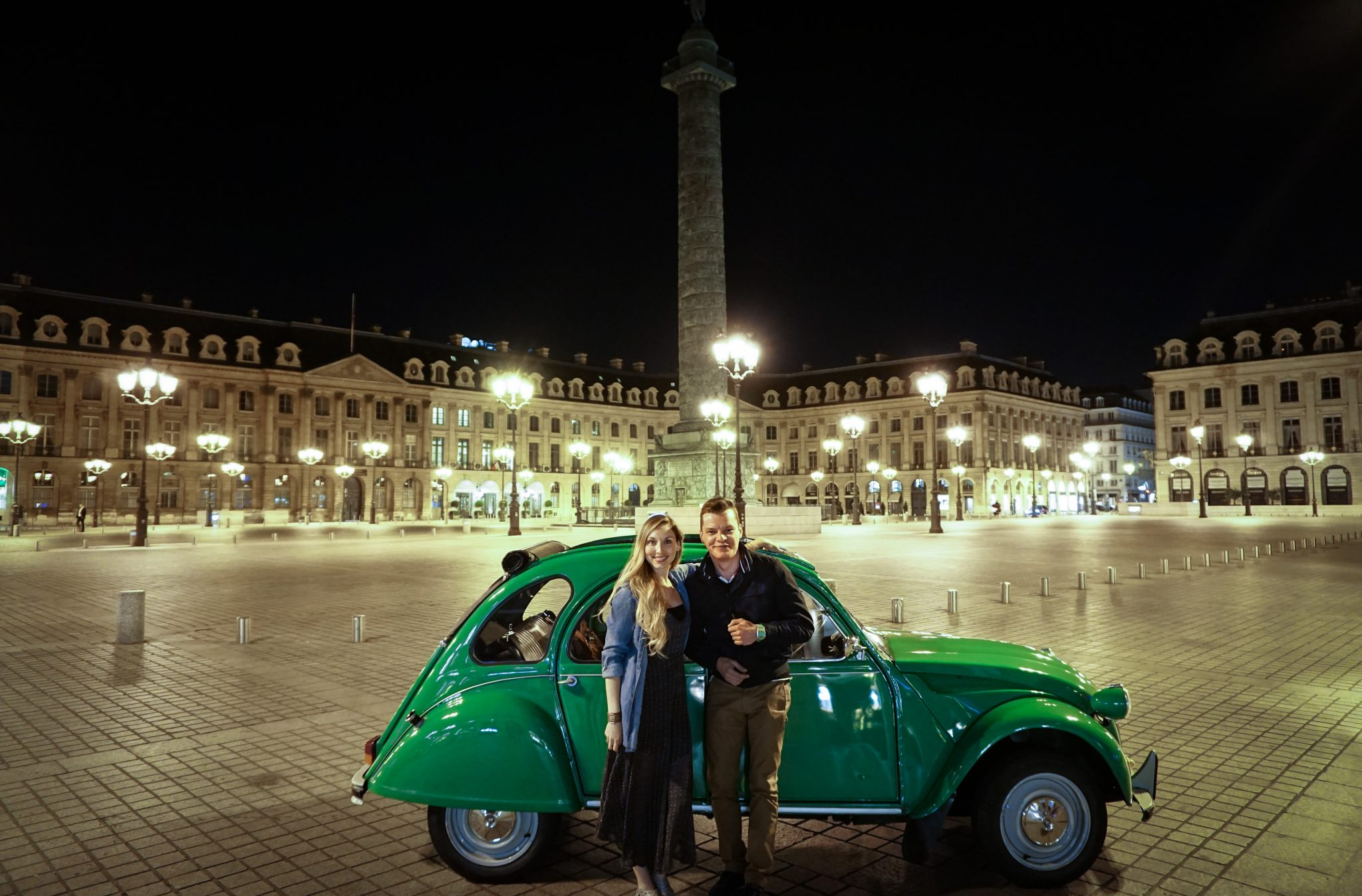 night tour, 2CV Paris, unique tour in Paris
