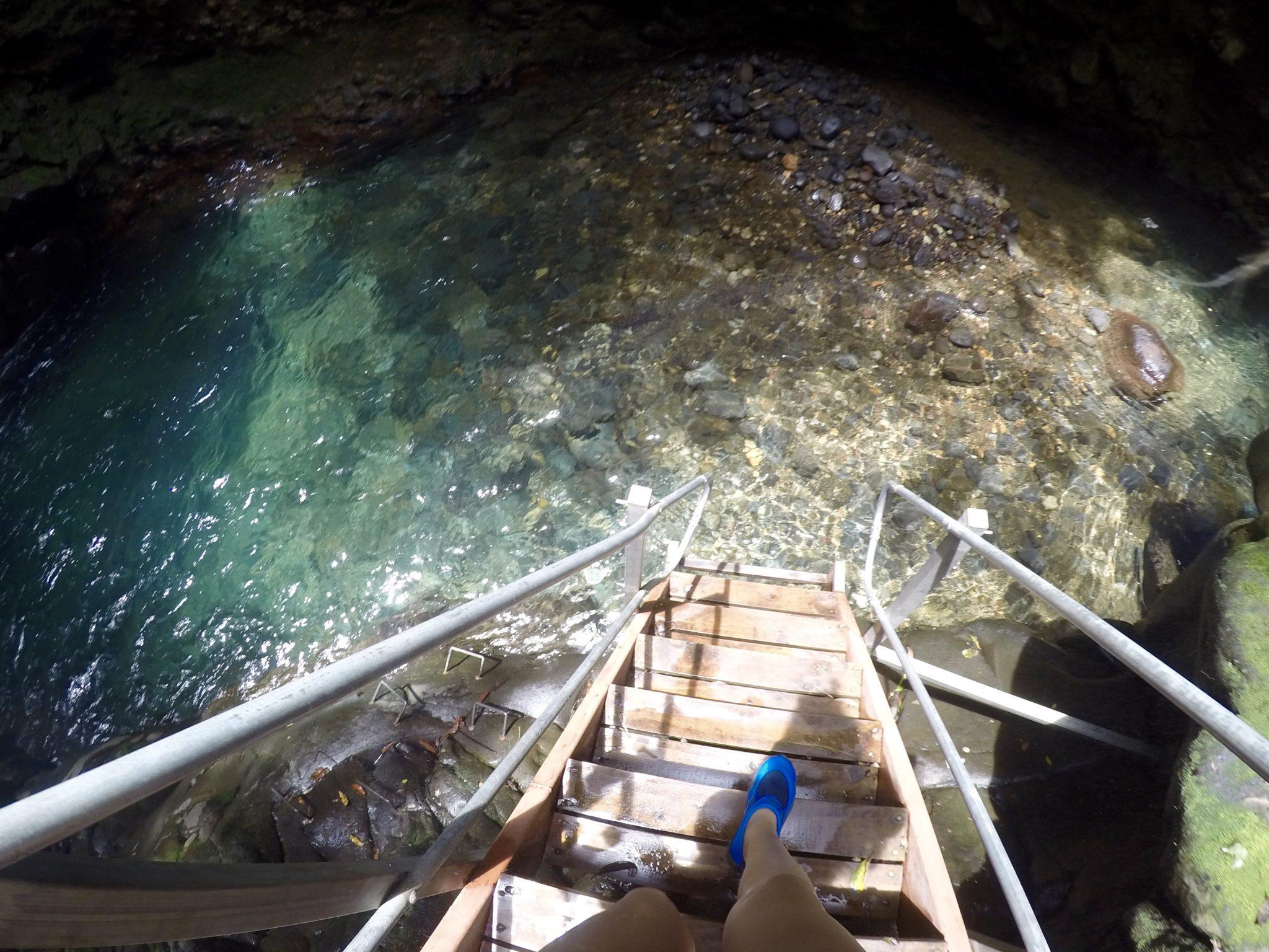Oropendula waterfall, liberia, costa rica, water shoes, rincon do le vieja