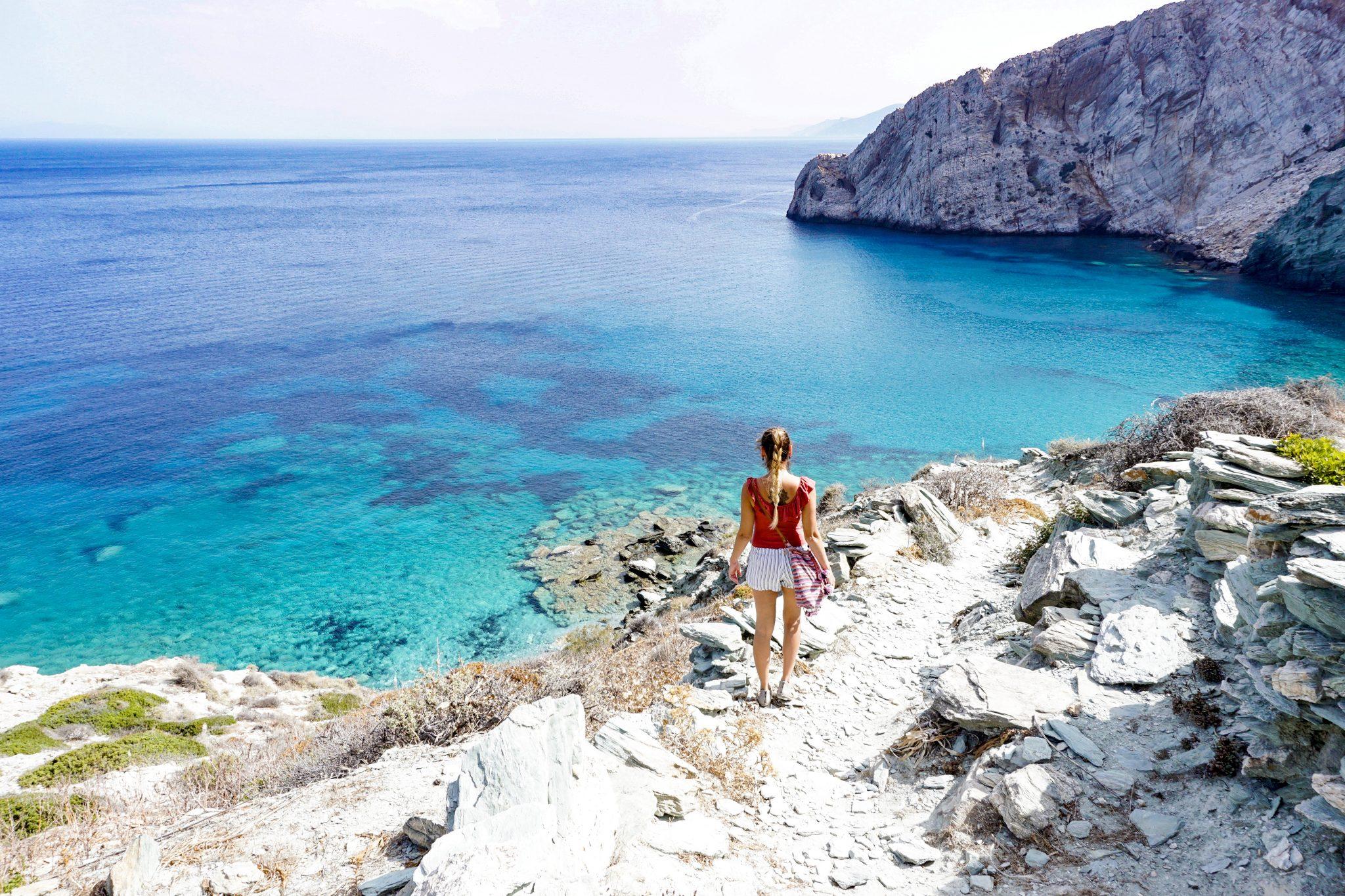 Beaches, Folegandros, Greece