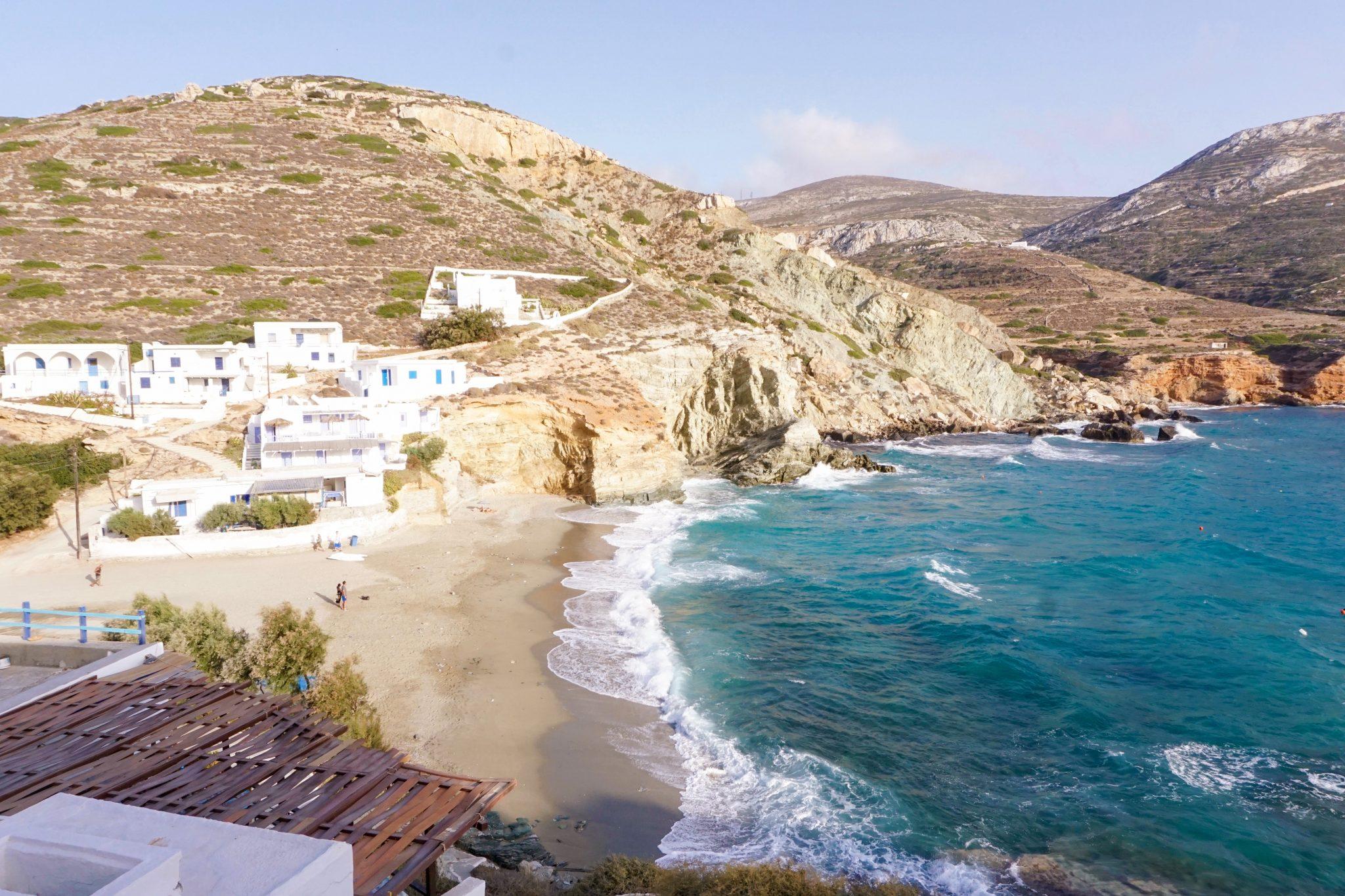 Blue sand, folegandros, Greece