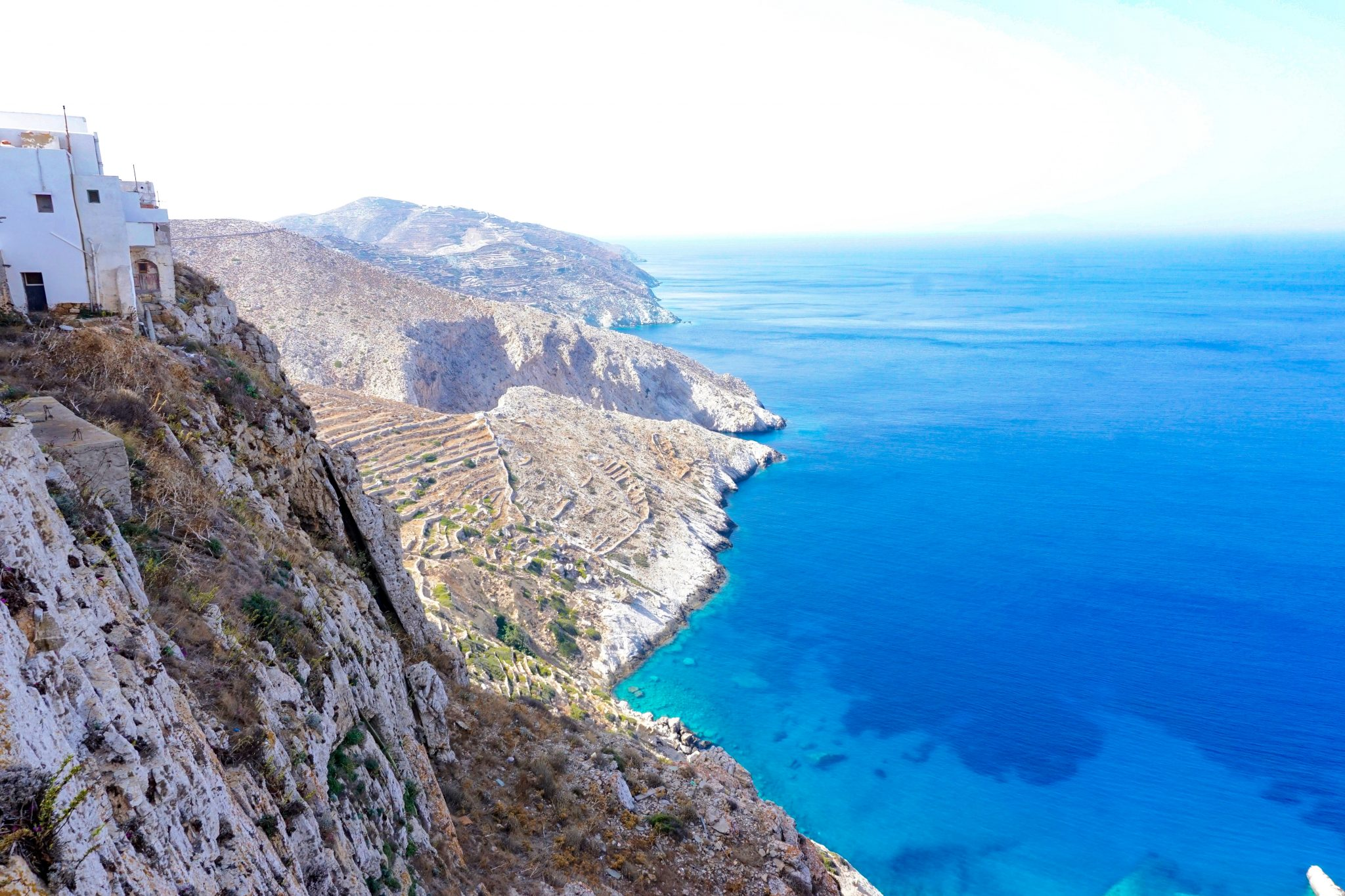 Views, Folegandros, Greece