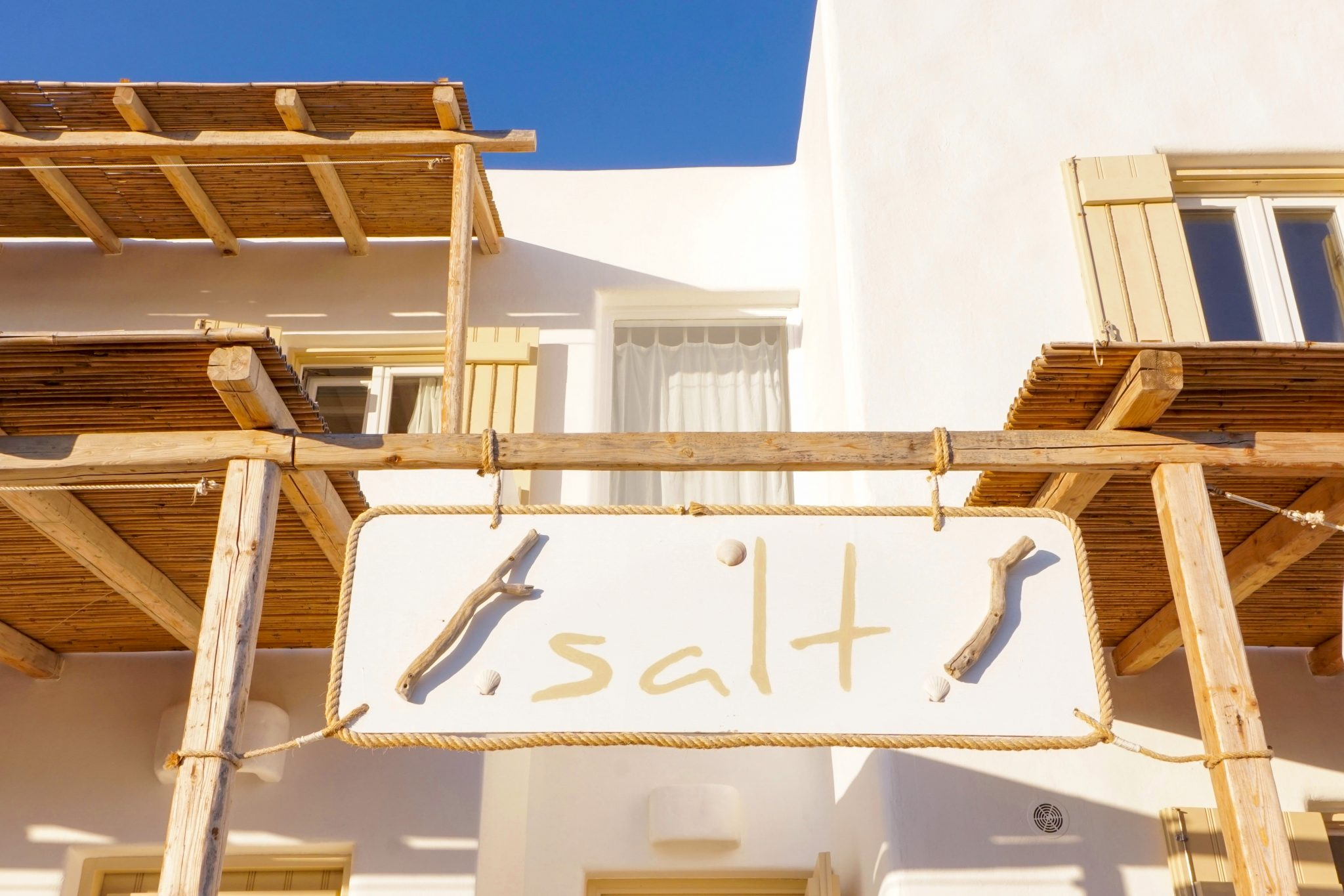 exterior, salt suites, milos, review, greece