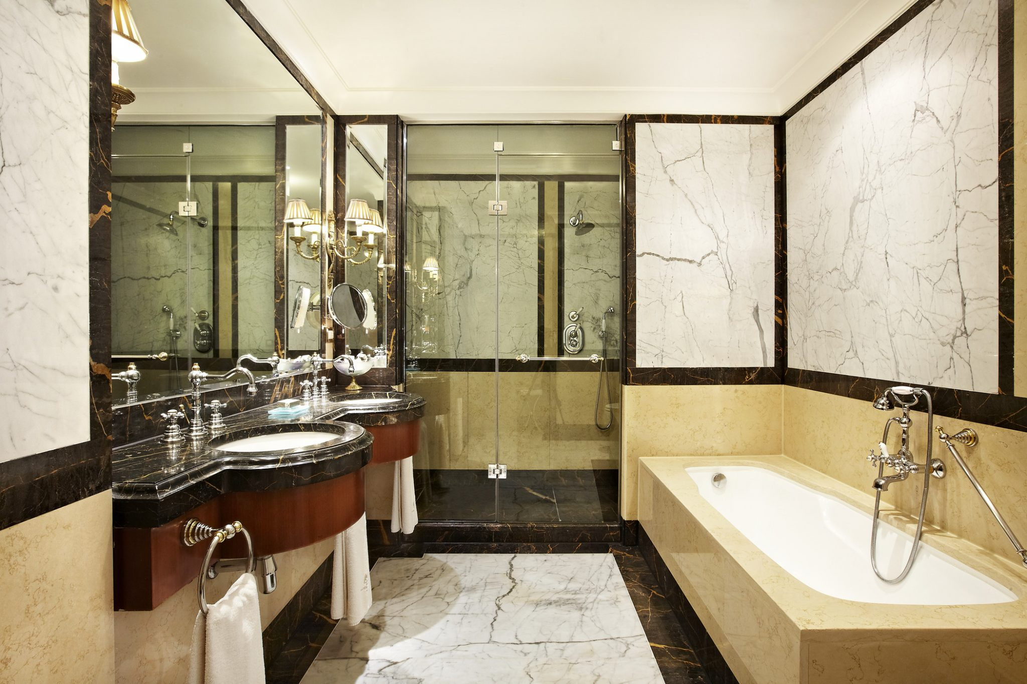 Bathroom at Hotel Grande Bretagne, Athens, Greece
