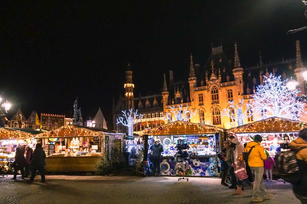 Bruges Christmas market, Bruges in one day