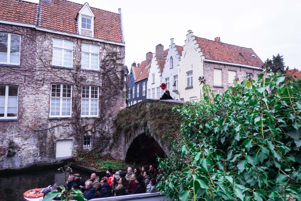 bridges of bruges, canal tour