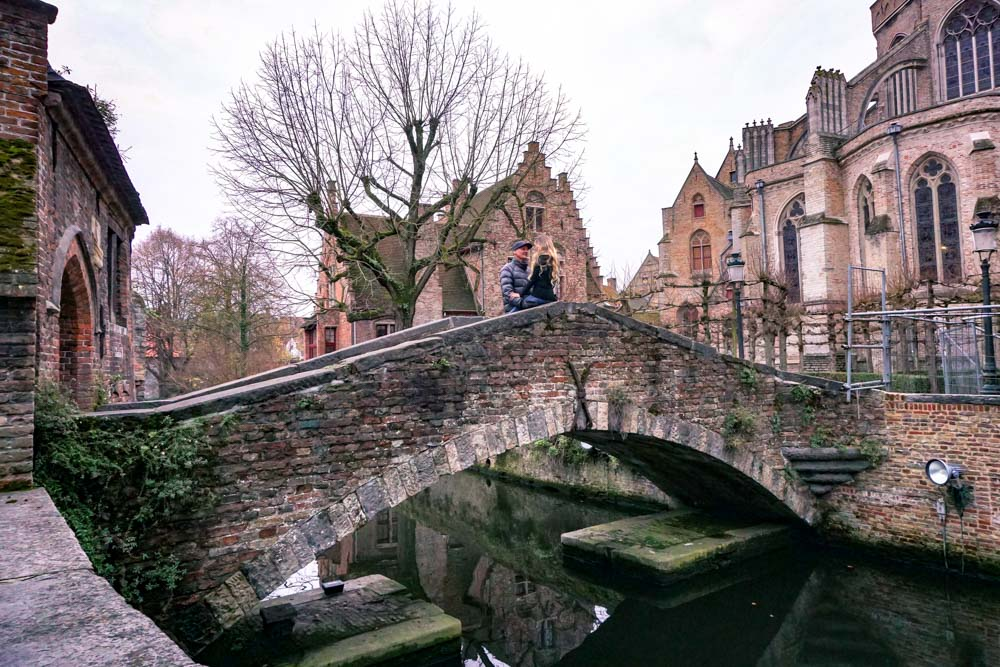 romance in Bruges