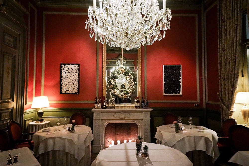 dining, Le Mystique, Hotel Heritage, Bruges, Belgium