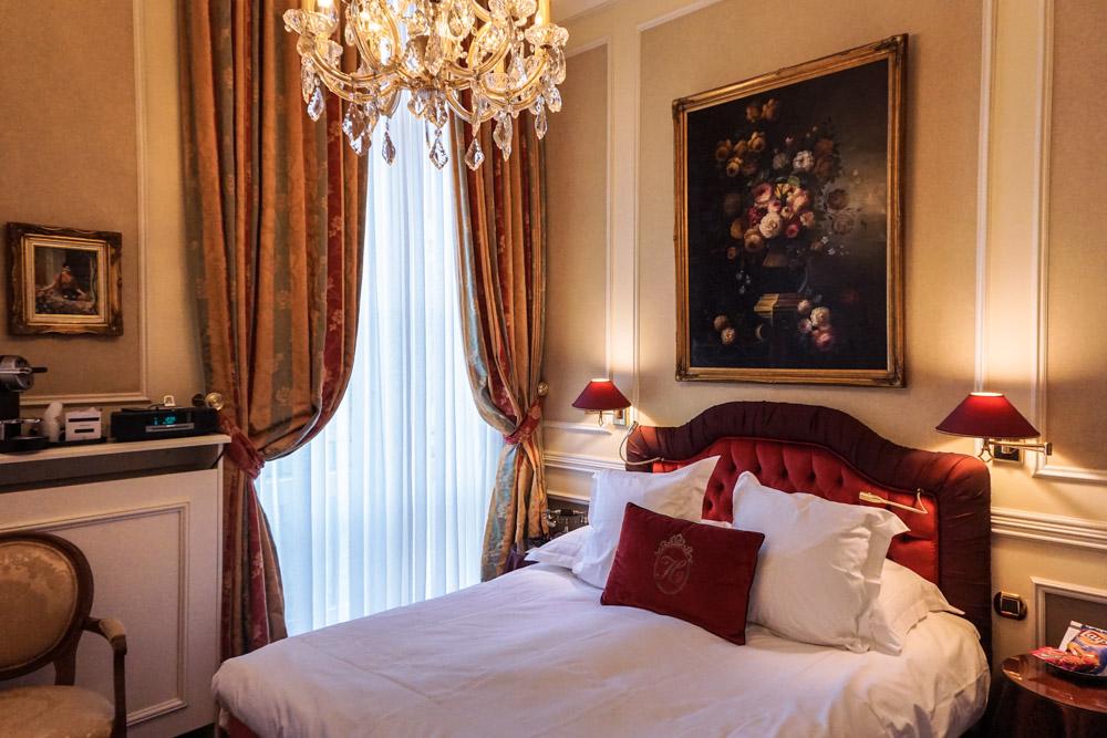 Hotel Heritage classic room, bruges belgium