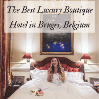 Hotel Heritage, luxury boutique hotel, Bruges, Belgium