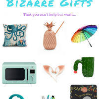Bizarre gifts, wanderlust gifts