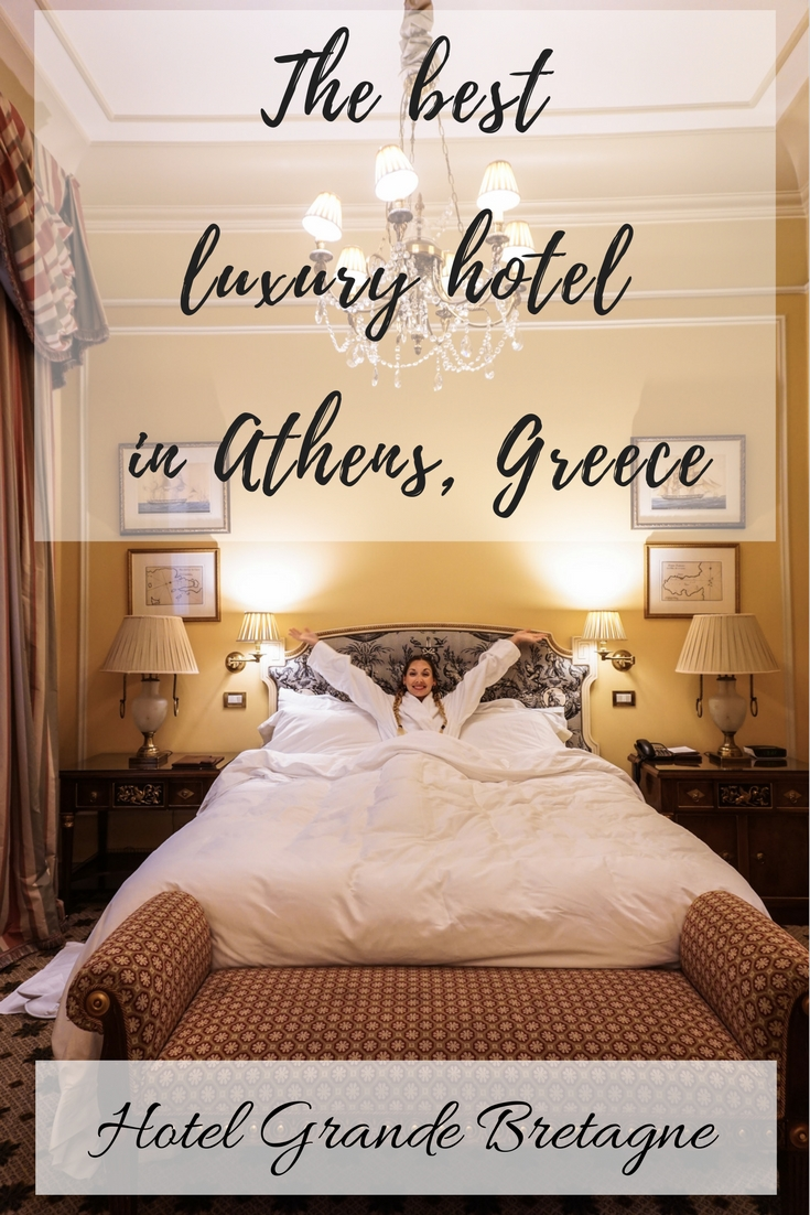 The Best Luxury Hotel in Athens, Greece - Hotel Grande Bretagne - A Review