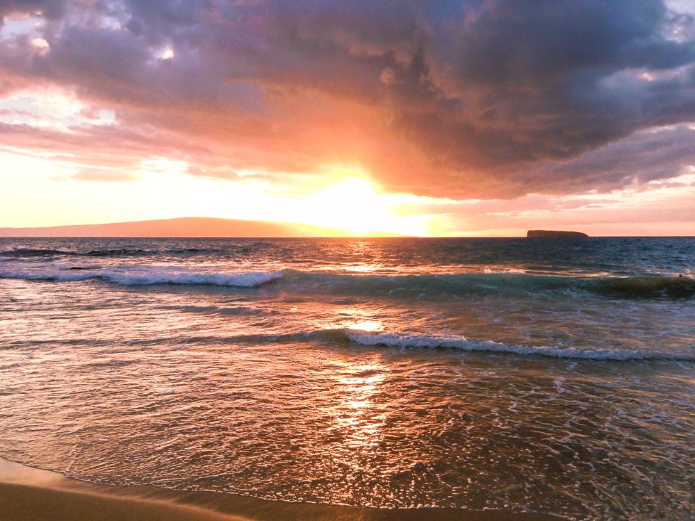 little beach sunset, Maui