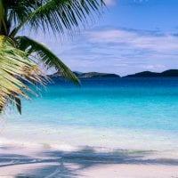 idyllic, paradise, beach