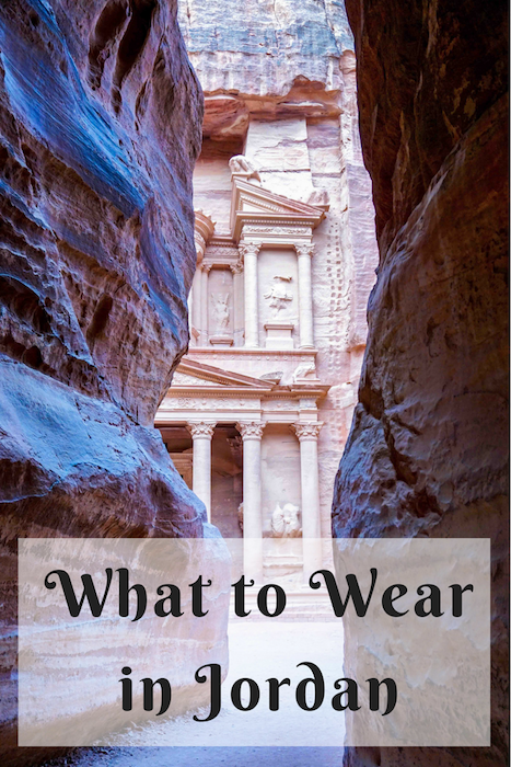 What to wear in Jordan in the Middle East