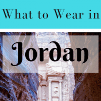 what to wear in Jordan