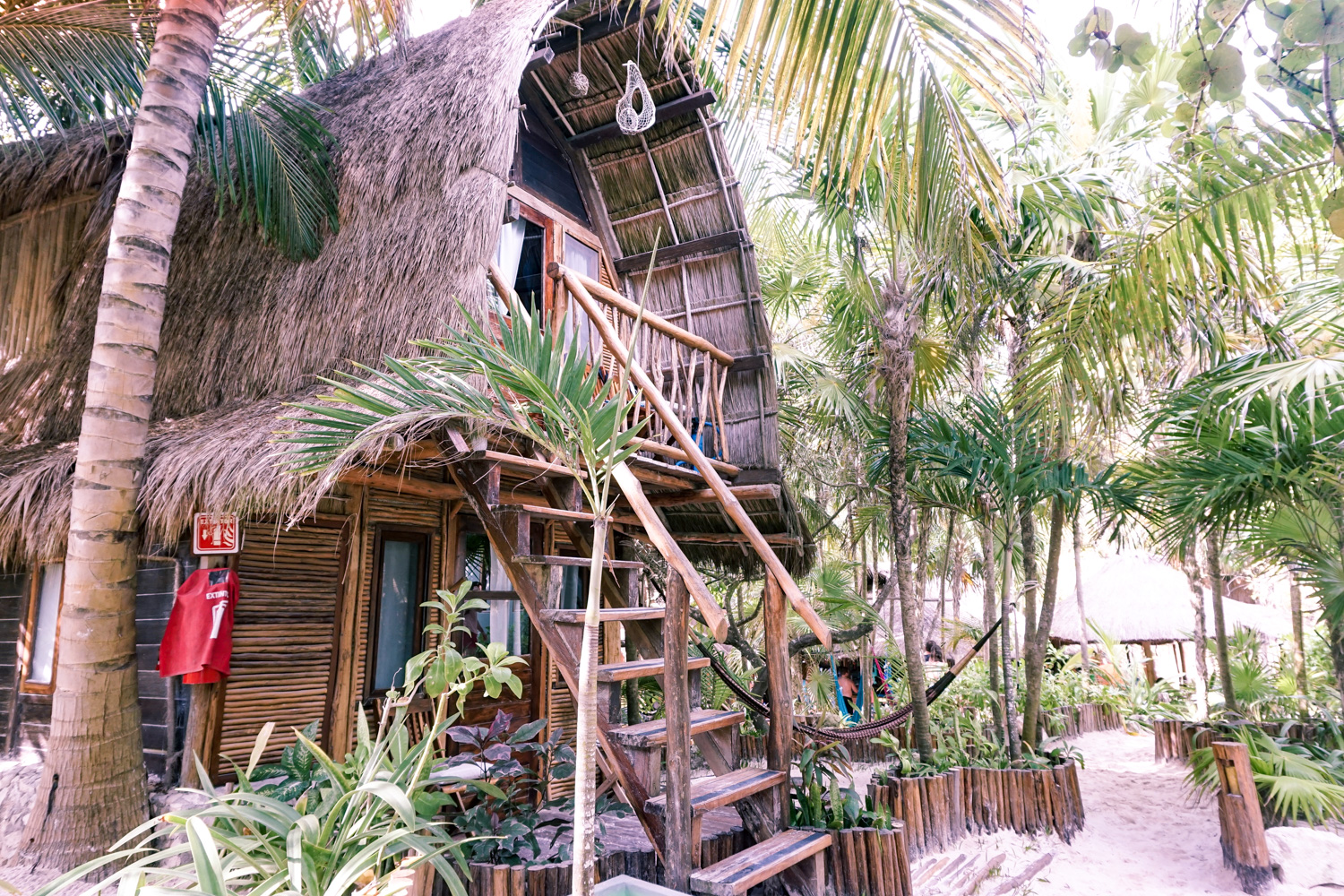 cabana in Tulum, Mexico