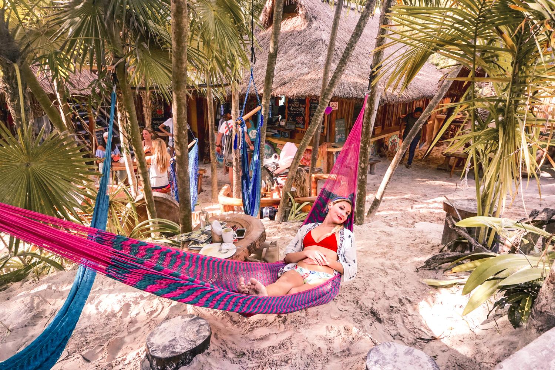 Raw Love Tulum hammock