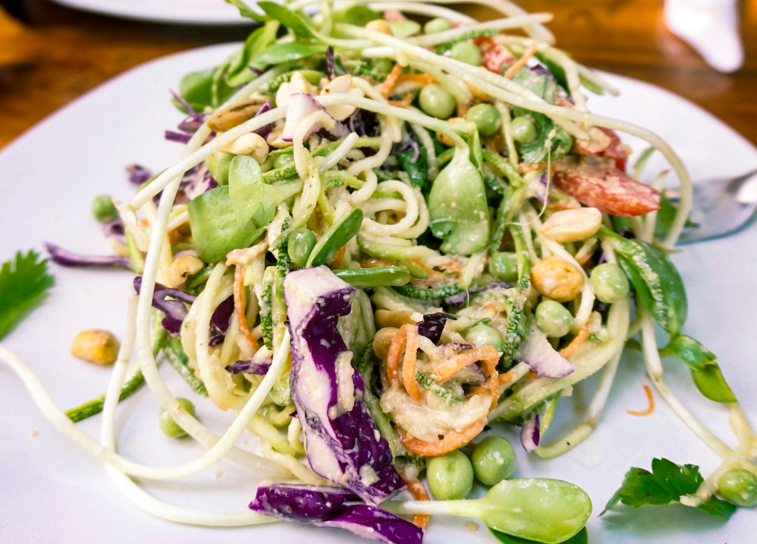 Raw Love vegan pad thai