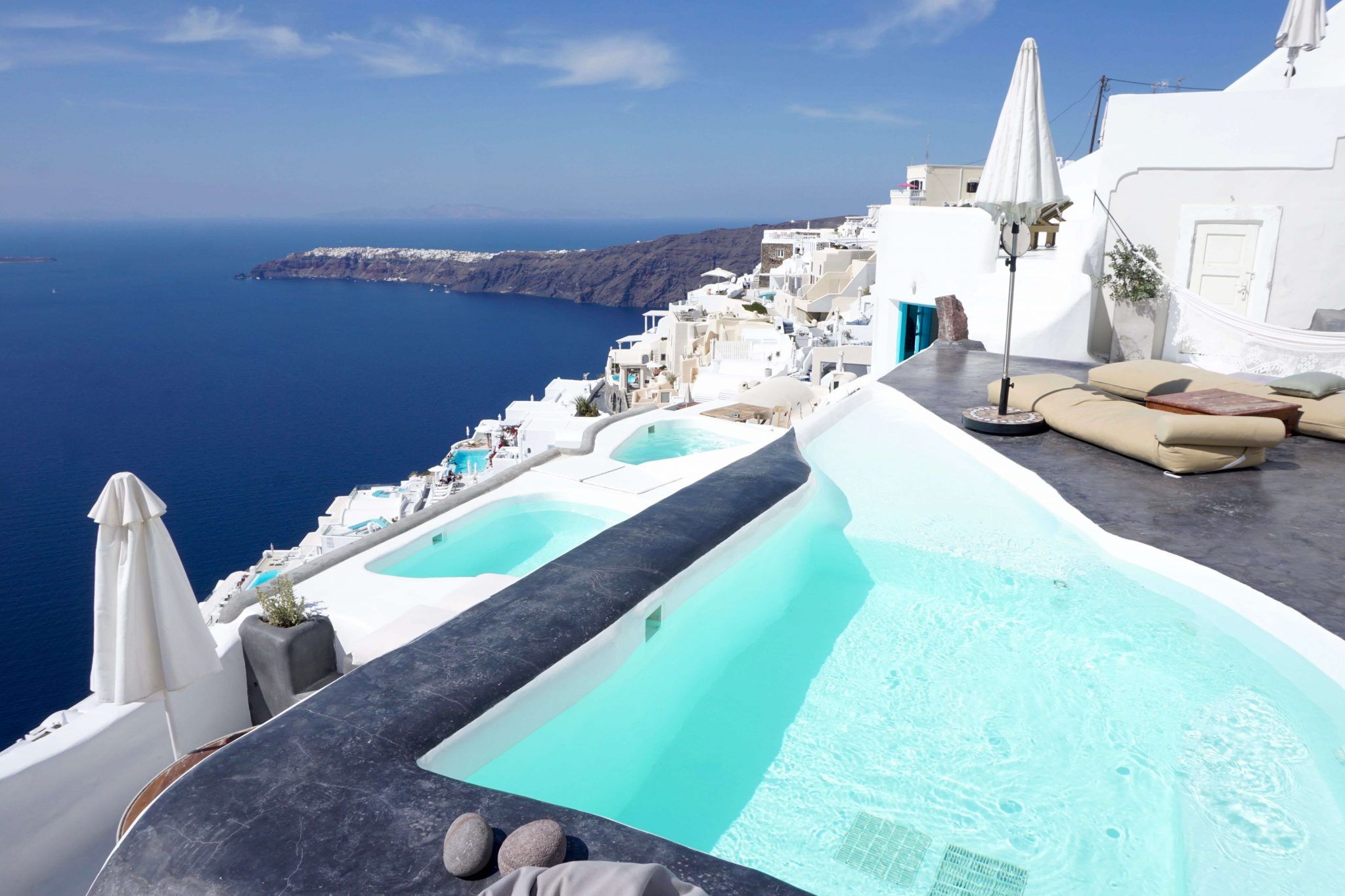 Sophia cave suites, private pool, imerovigli santorini