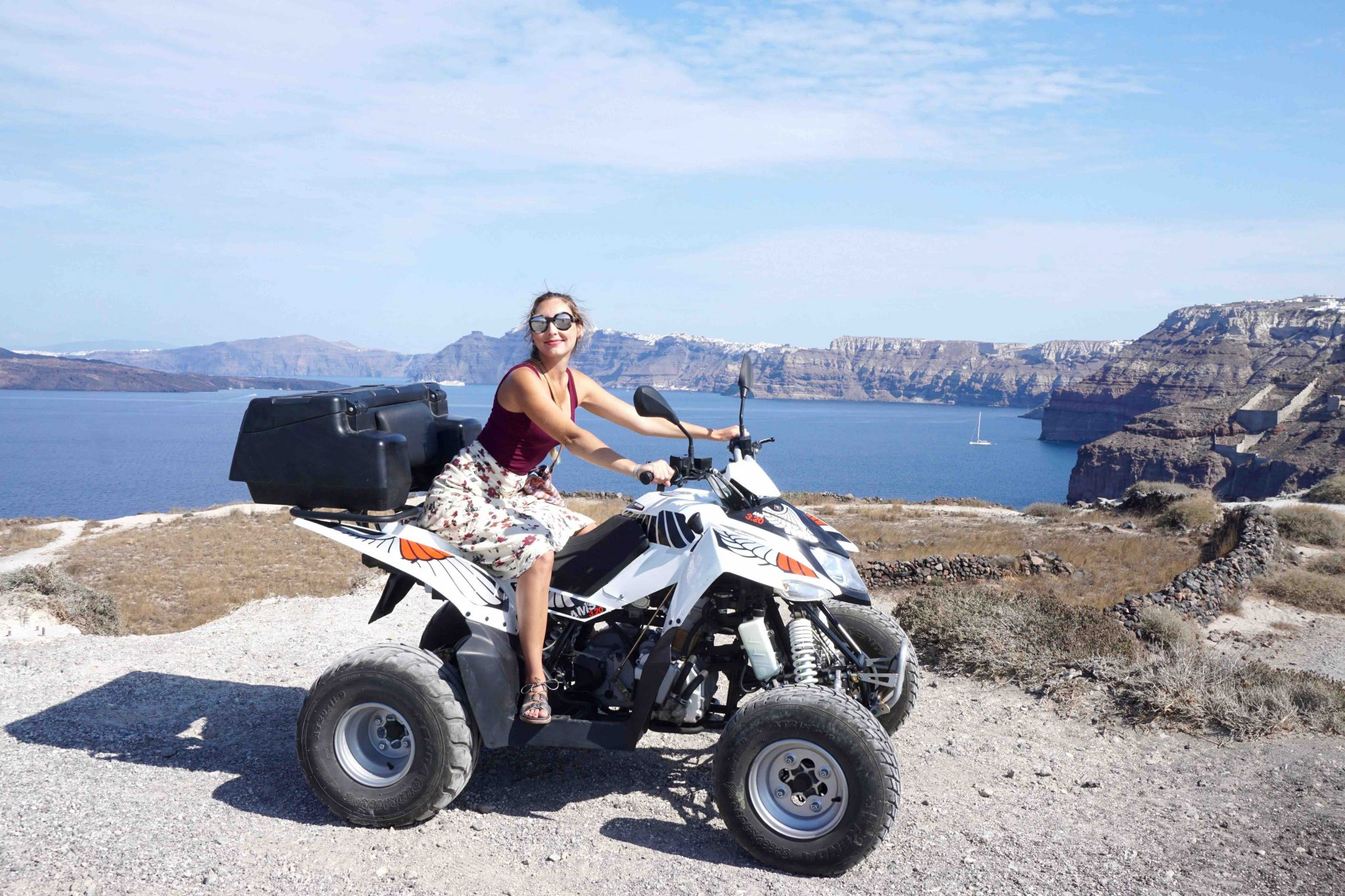 ATV rental Santorini