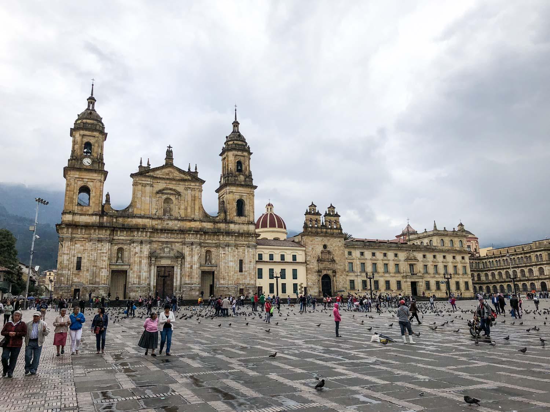 old square bogota, colombia