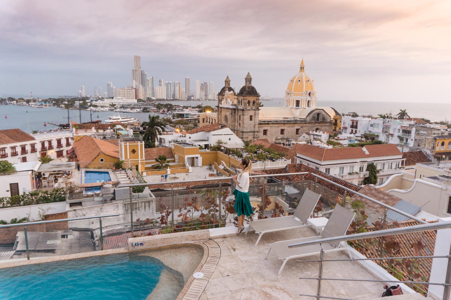 Movich hotel cartagena rooftop